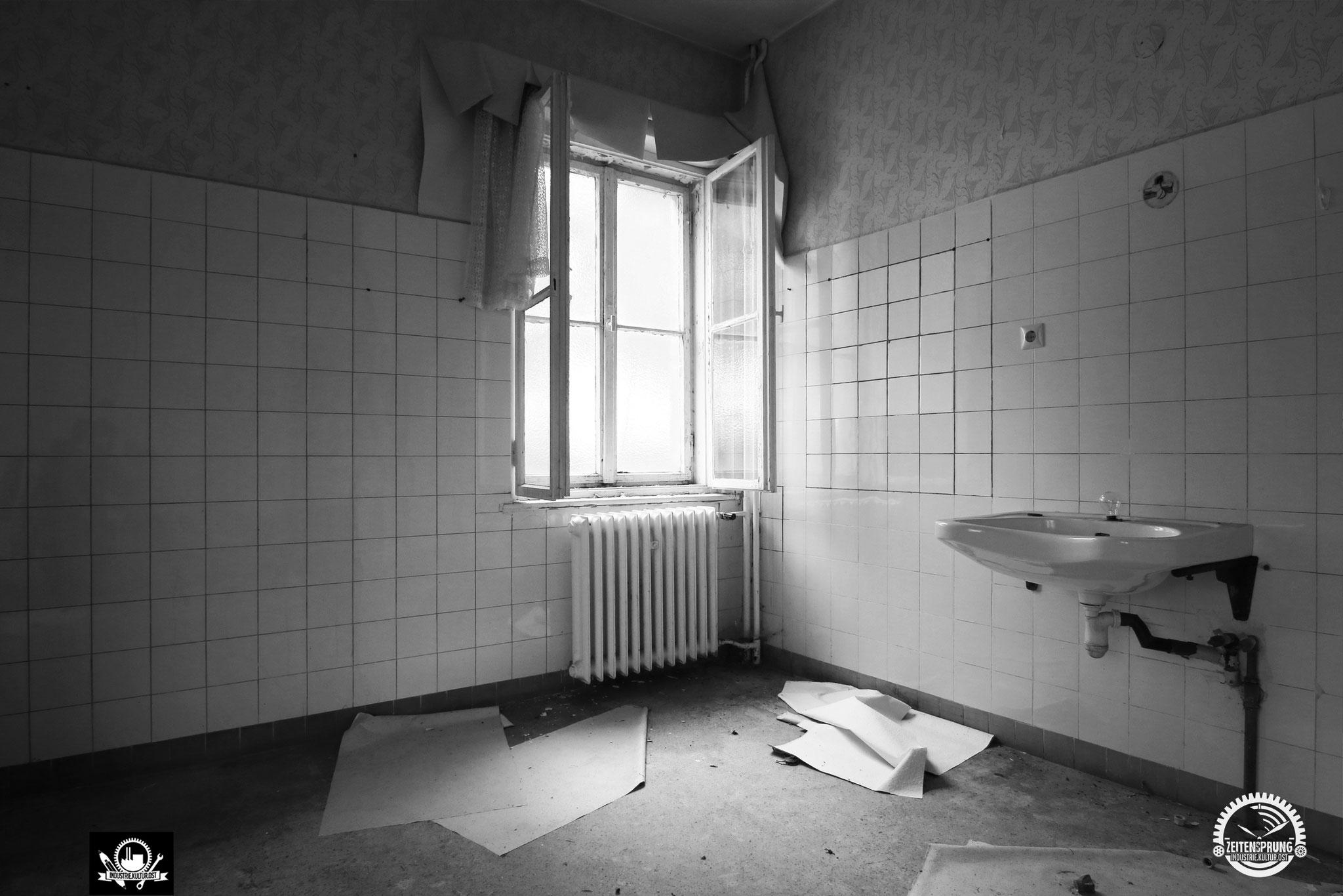 Behandlungszimmer in der Poliklinik