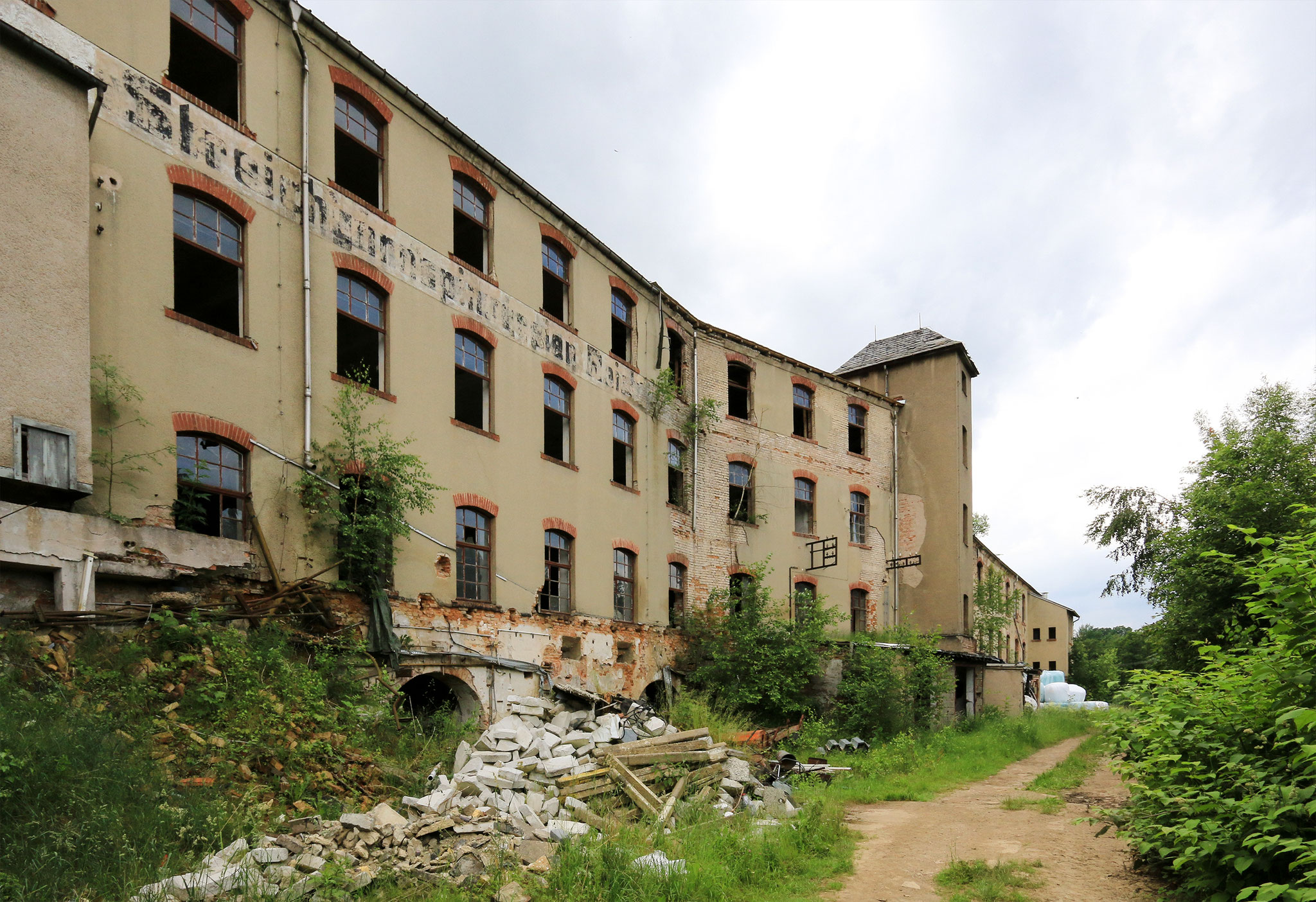 VEB Streichgarnspinnerei Cunersdorf