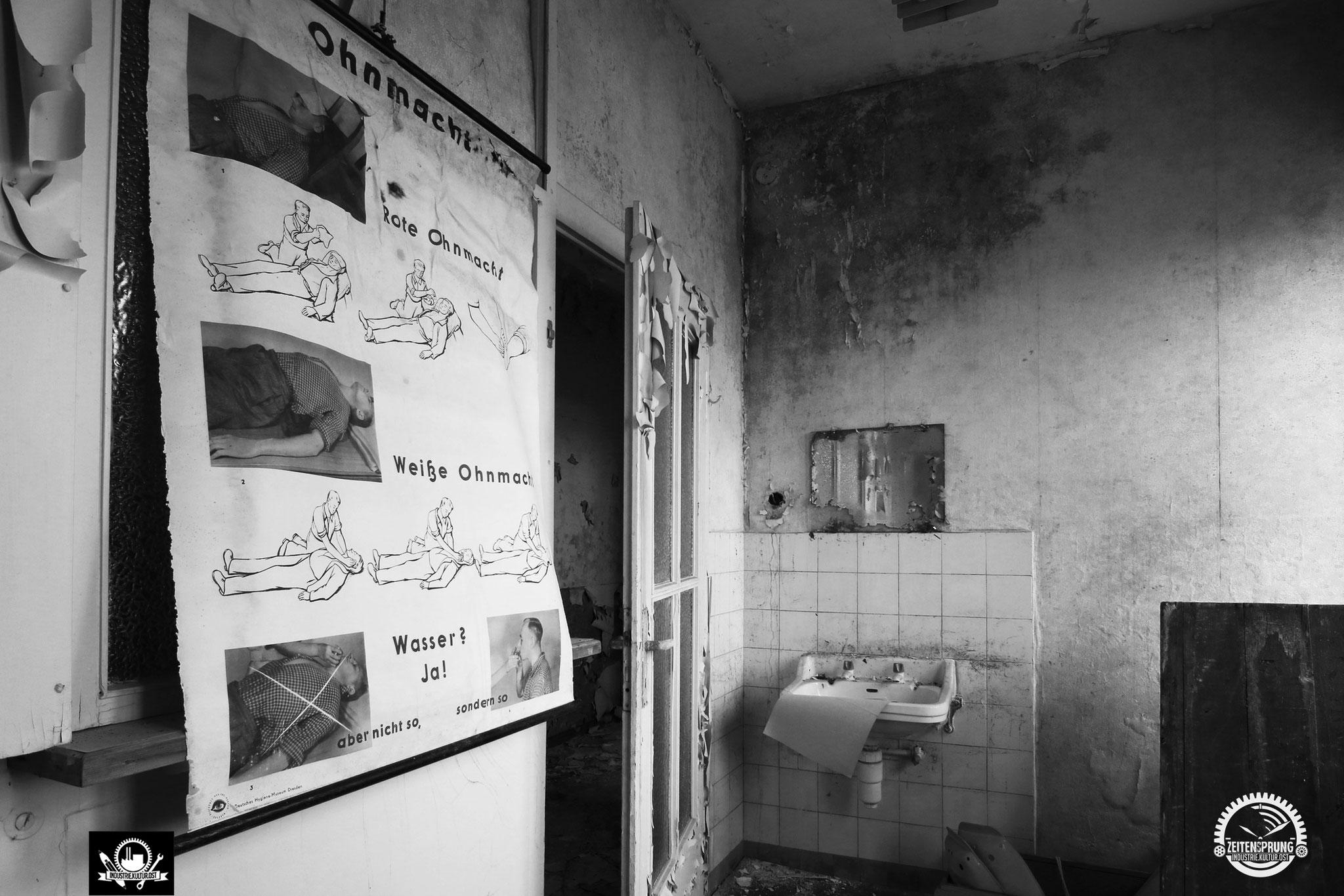 Pausenraum in der Poliklinik