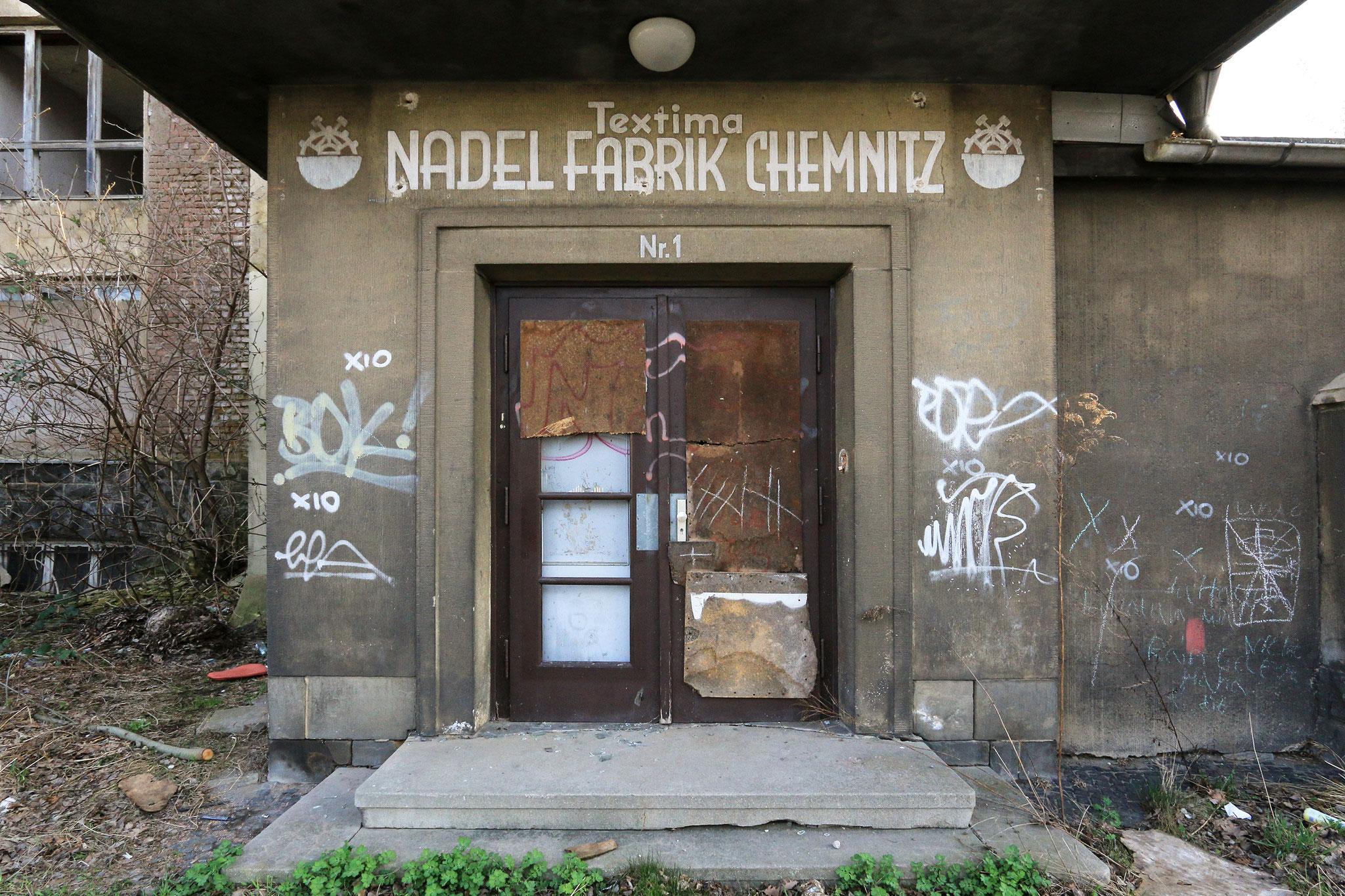 VEB Textima Nadelfabrik Chemnitz