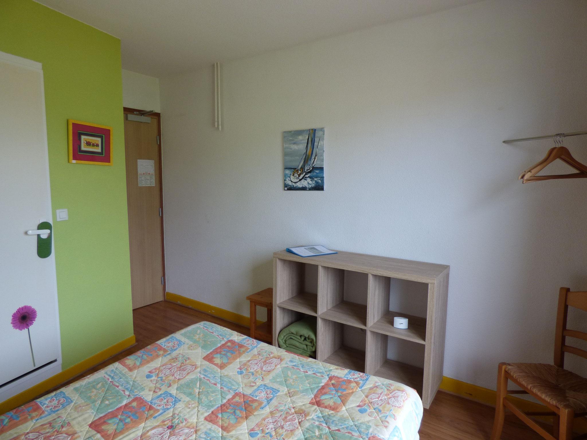 Chambre double 12 m²