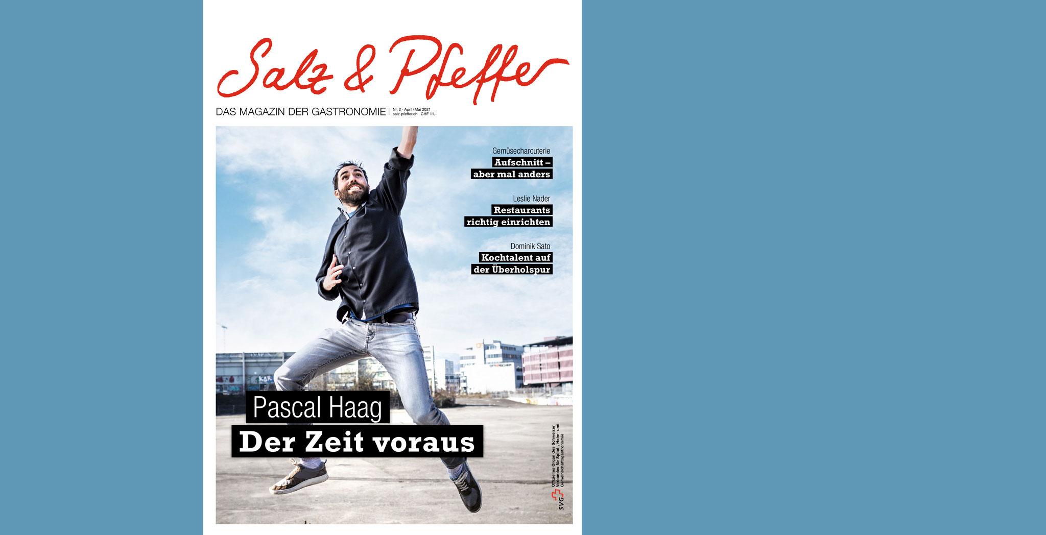 Im Salz & Pfeffer Magazin sprach ich über meine Arbeit als Vegi-Koch, Gastroberater und Rezeptentwickler und über alles was mich bei meiner Arbeit bewegt.
