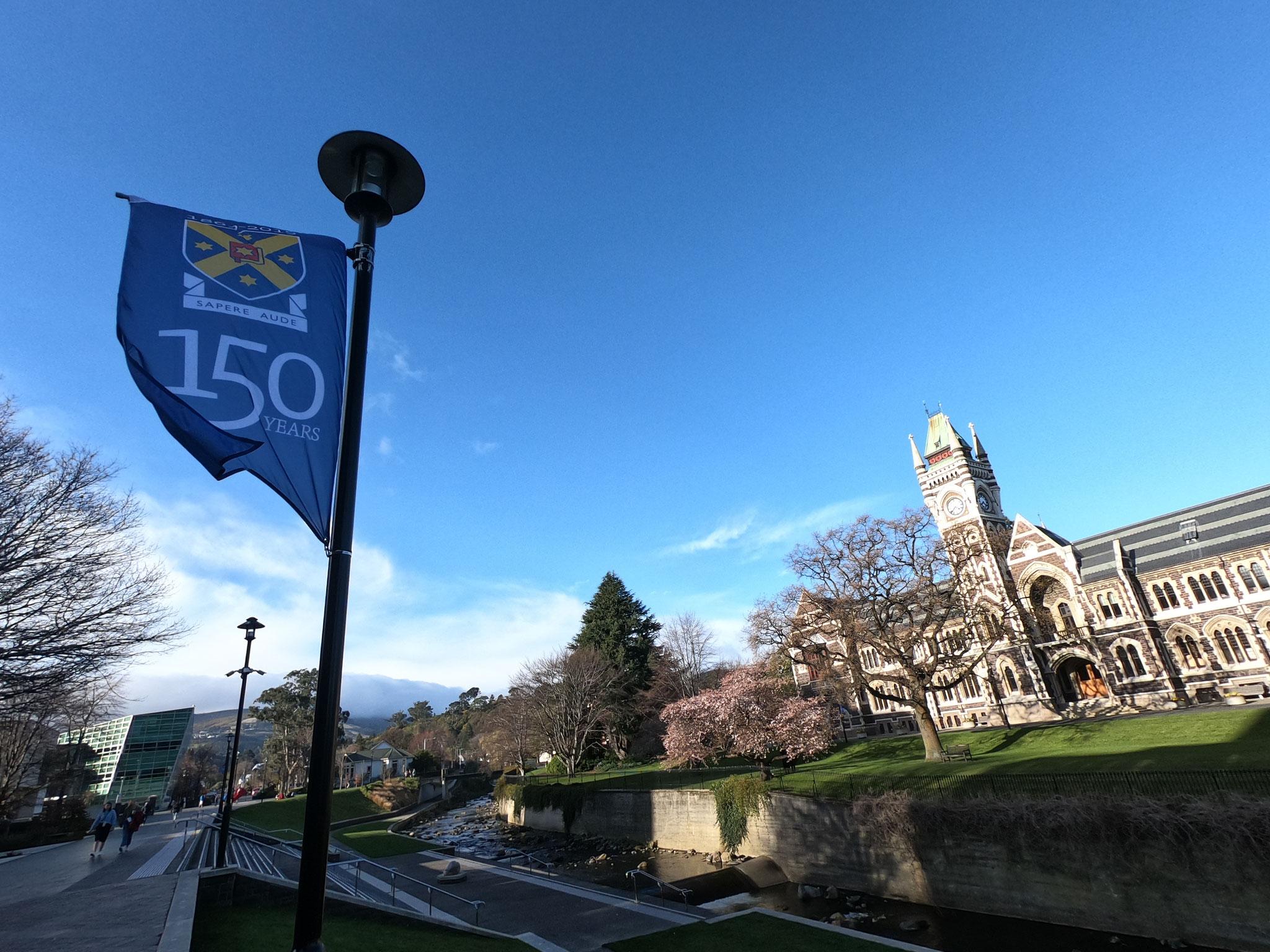 150 ans de la première université en NZ