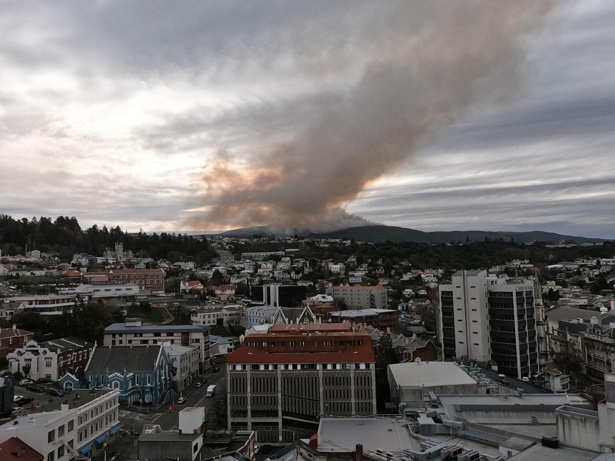 Flagstaff bush fire 16/09/19