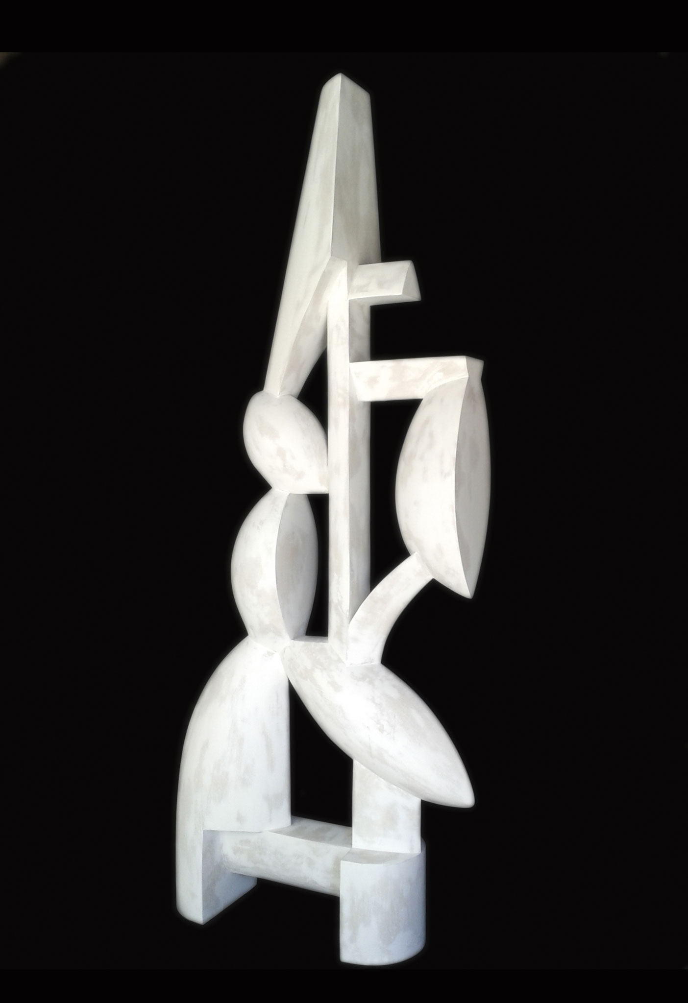 INFANCIA ESCONDIDA. 2016. 150 x 61 x 19 cm. Plaster