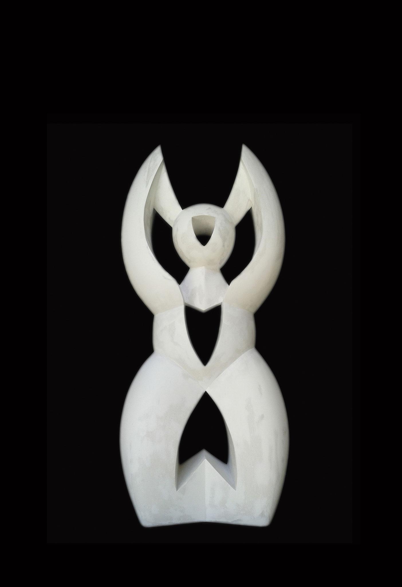 SEMIDIOSA. 2017. 79 x 35 x 23 cm. Plaster