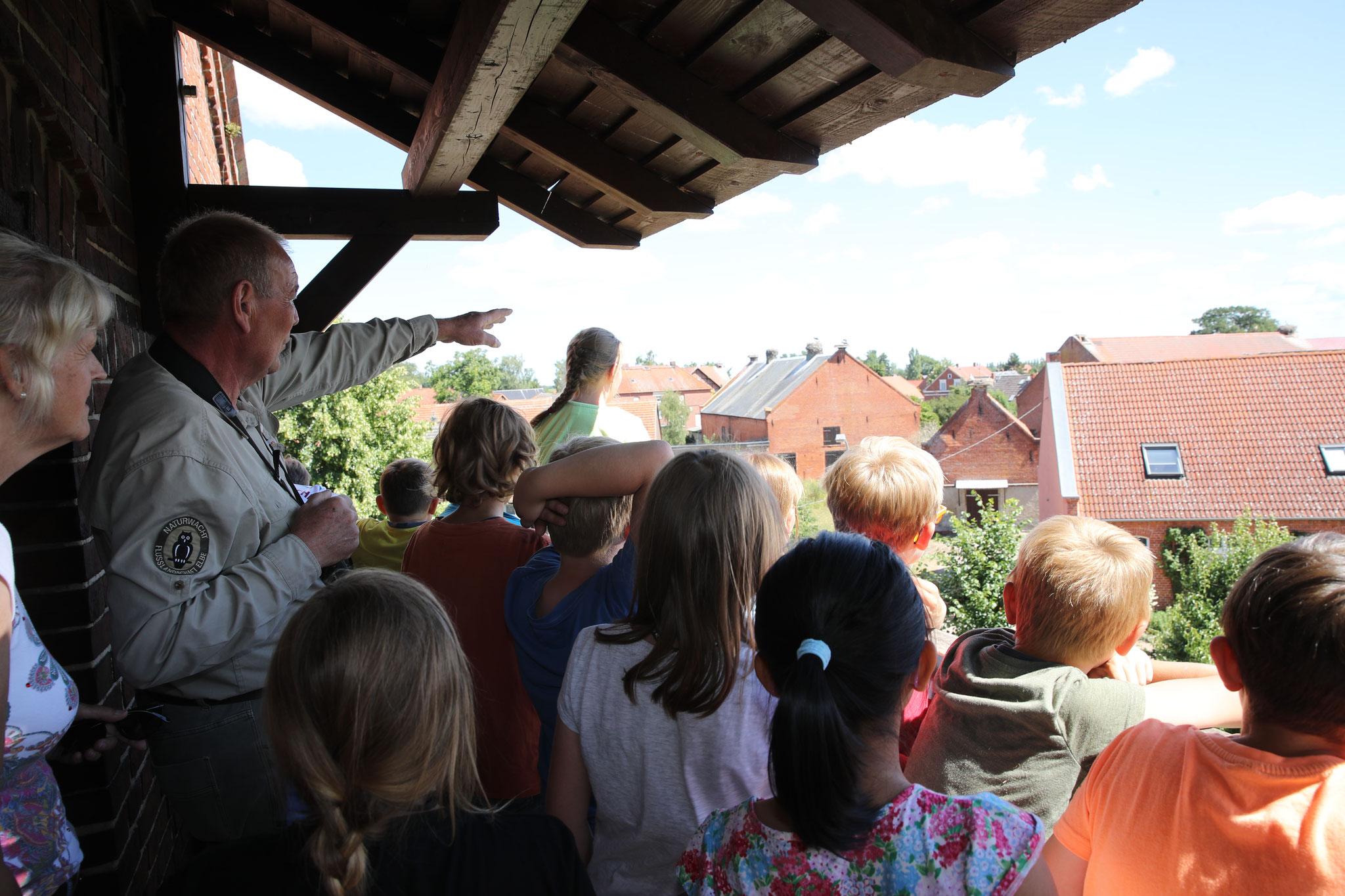 Ein Blick über die Dächer von Rühstädt.