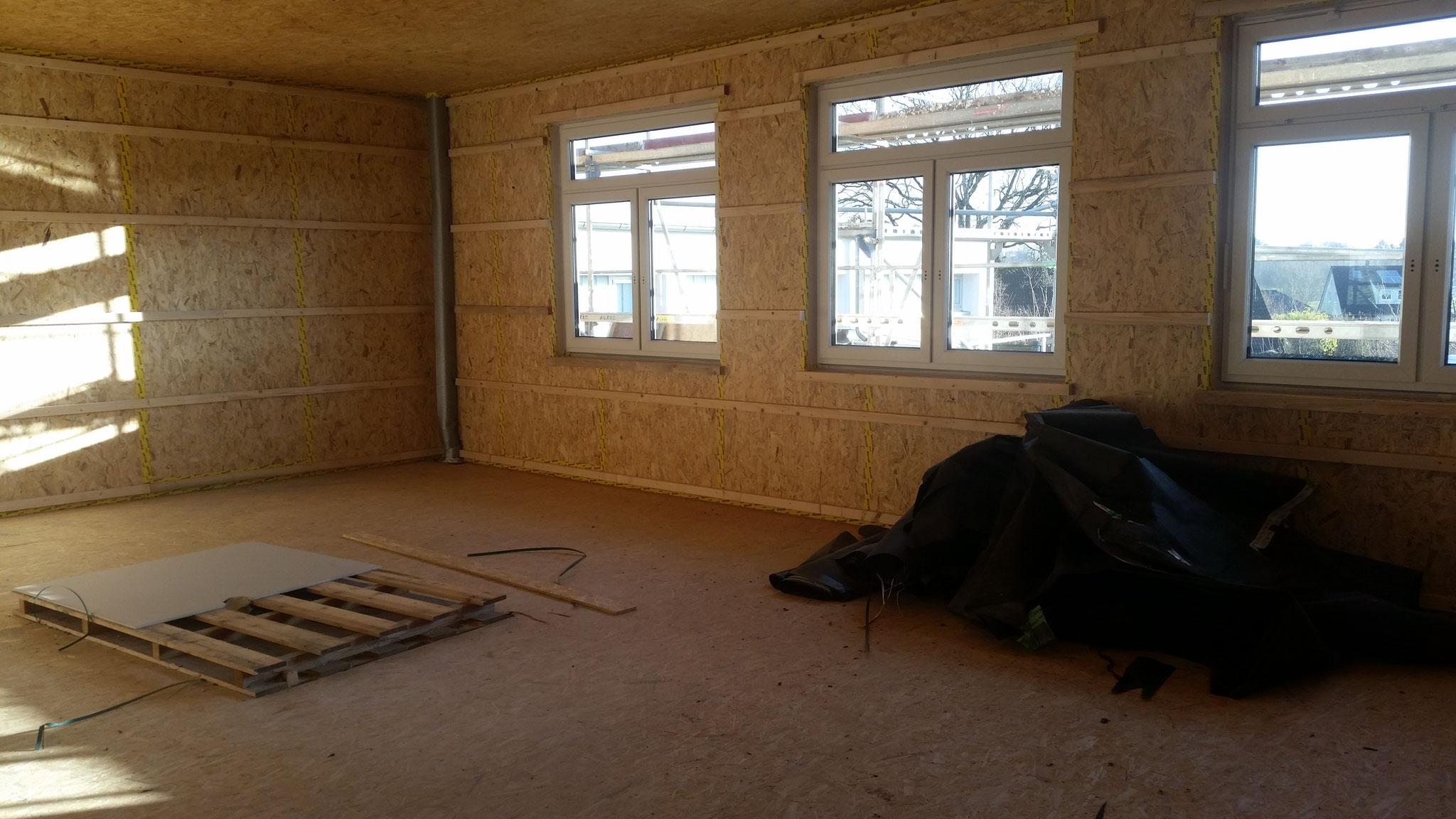 Das wird ein heller, großer Klassenraum.