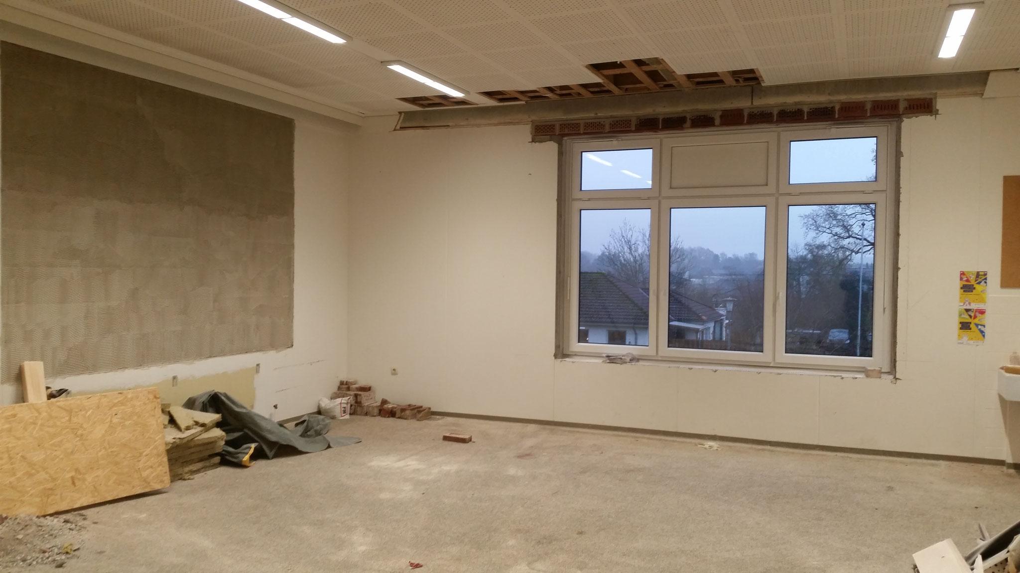 Der alte Raum mit neuem Fenster