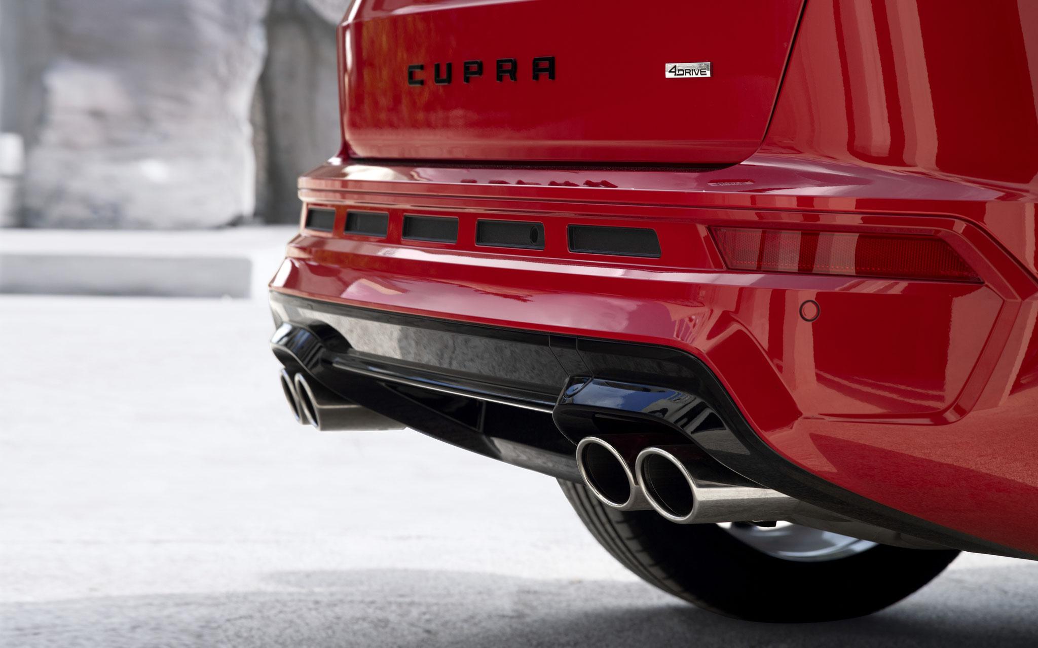 Im Herzen ein Sportwagen –der neue CUPRA Ateca