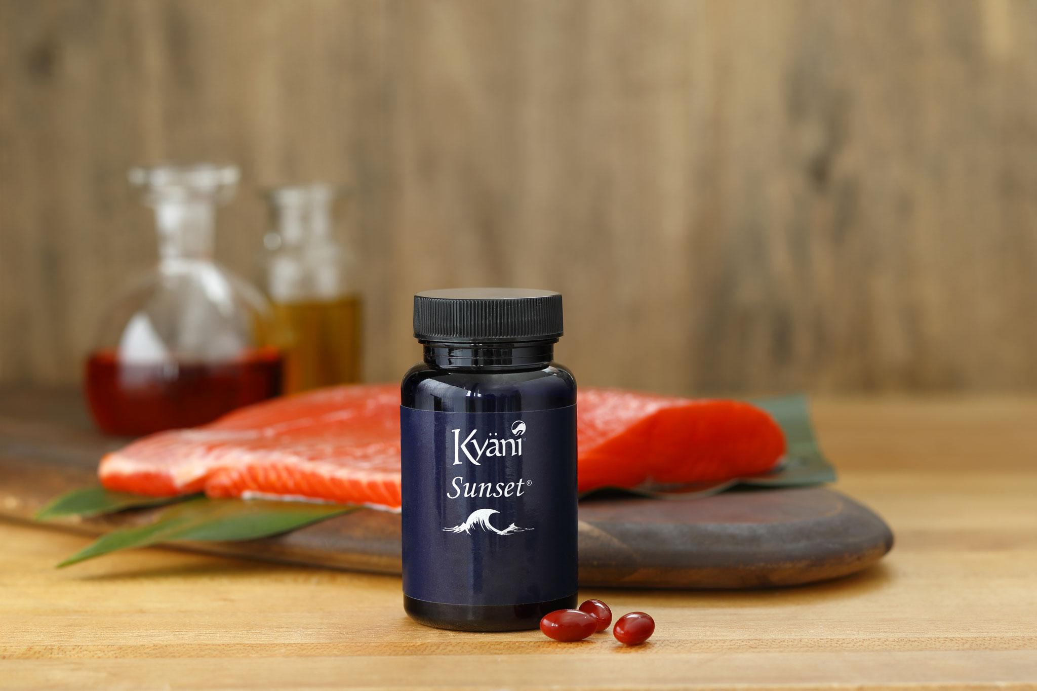Ausgewählte fettlösliche Bestandteile Omega-3