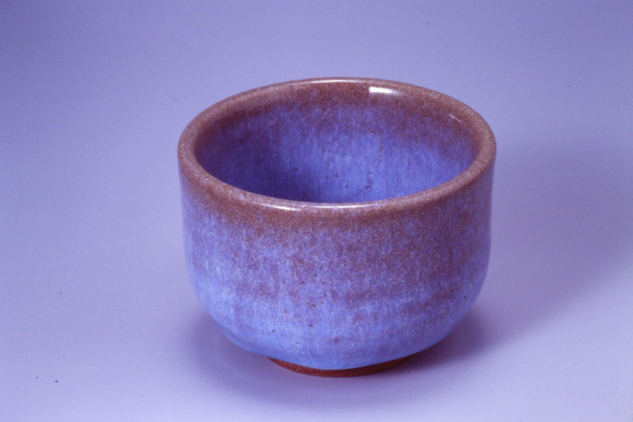 82.ブルーワラ灰釉 酸化1,230~1,250℃ ※還元可