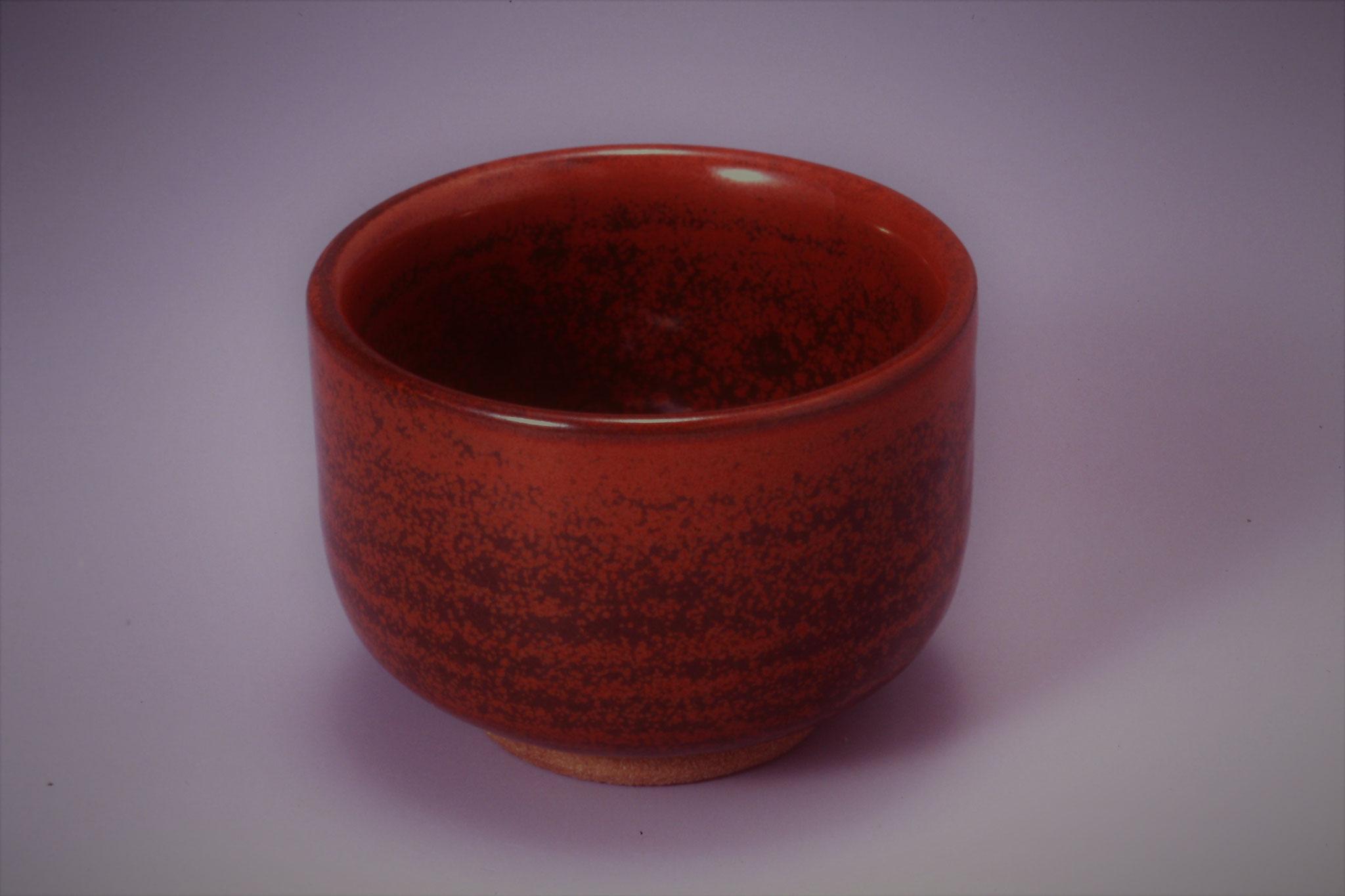67.柿赤釉 酸化1,230~1,250℃ ※還元可