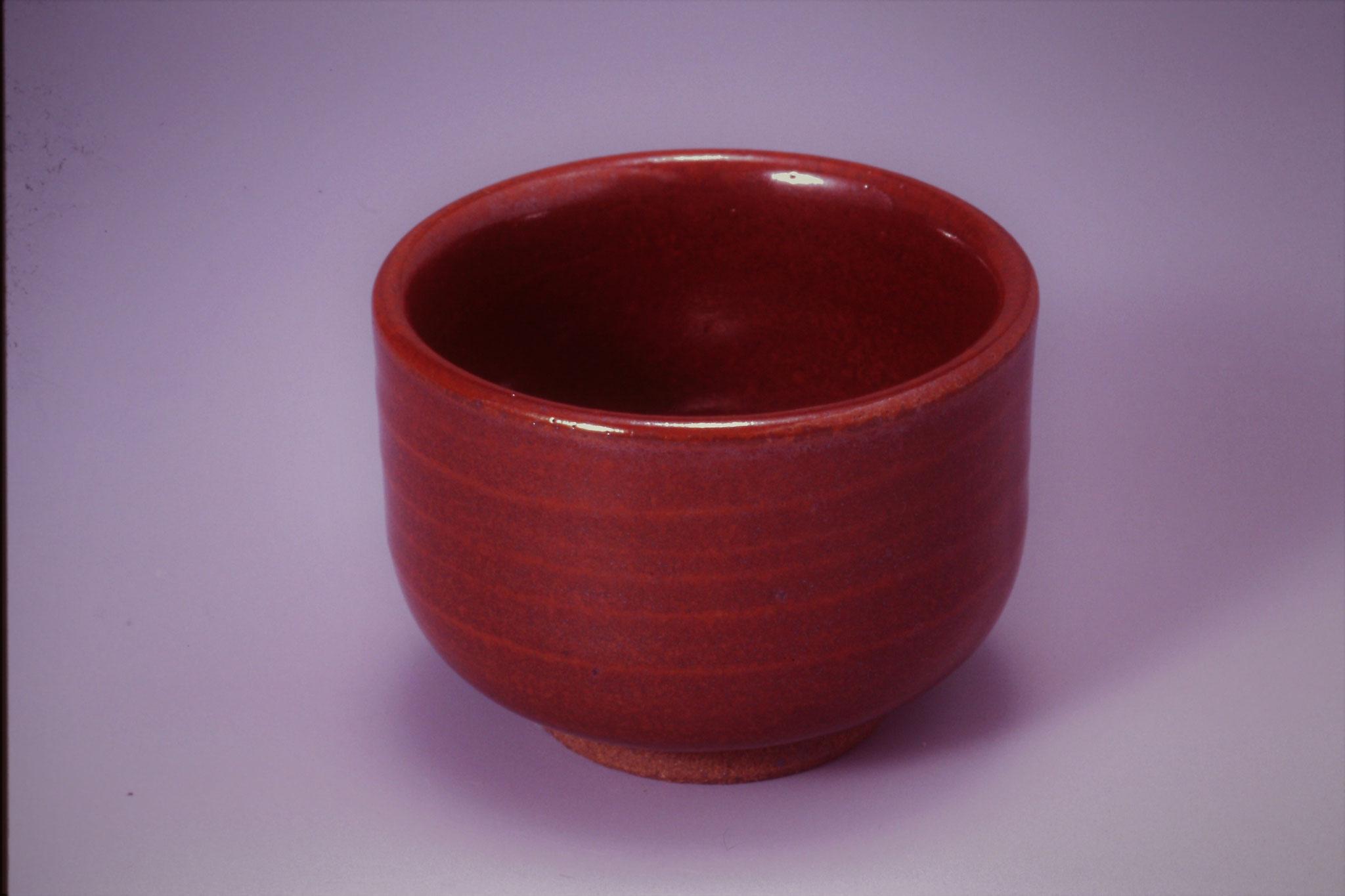93.柿赤釉 還元焼成1,260~1,300℃