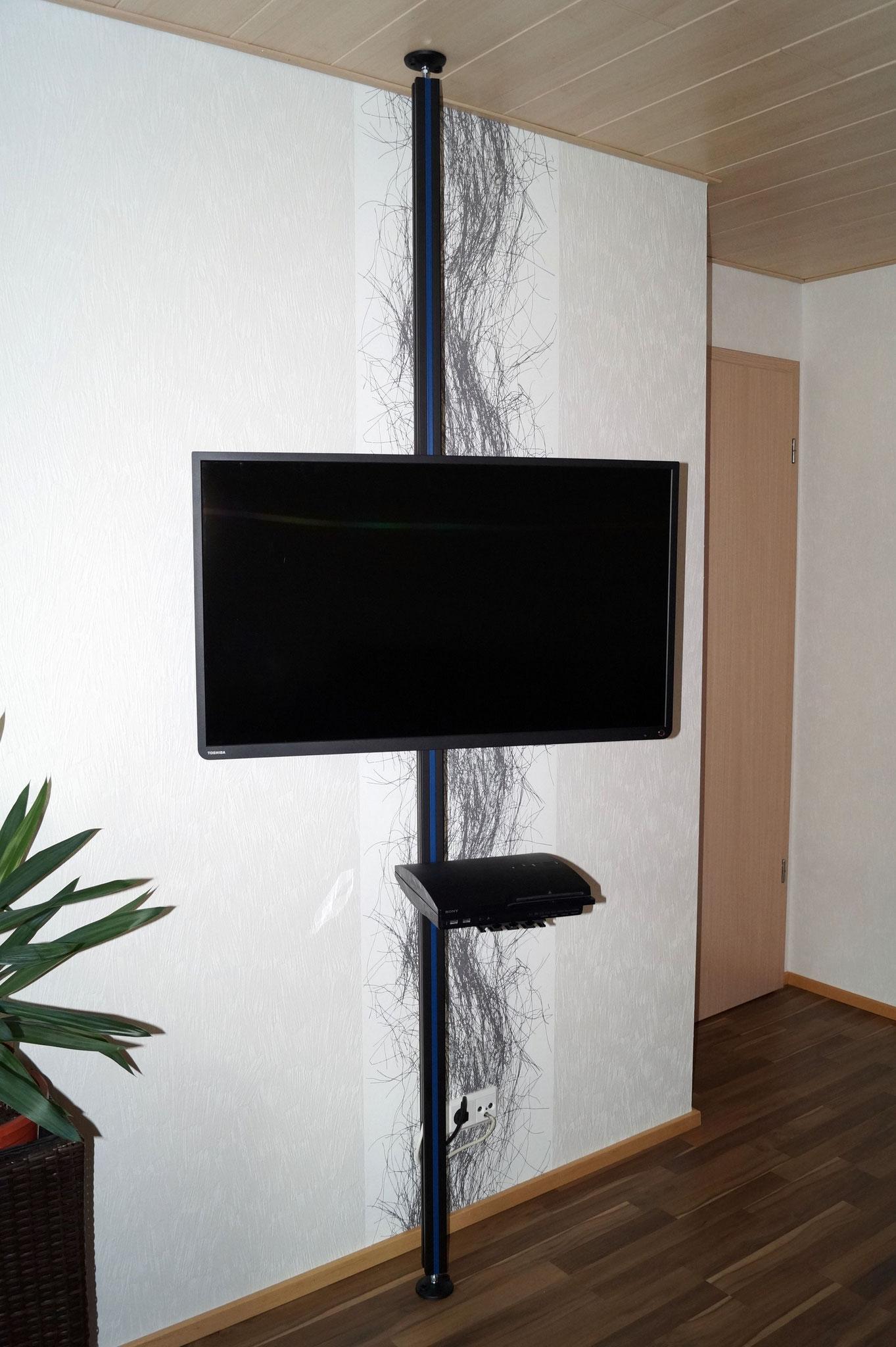tv halterung decke tv halterung decke preiswert uni prof 24 tv halterung drehbar schwenkbar. Black Bedroom Furniture Sets. Home Design Ideas