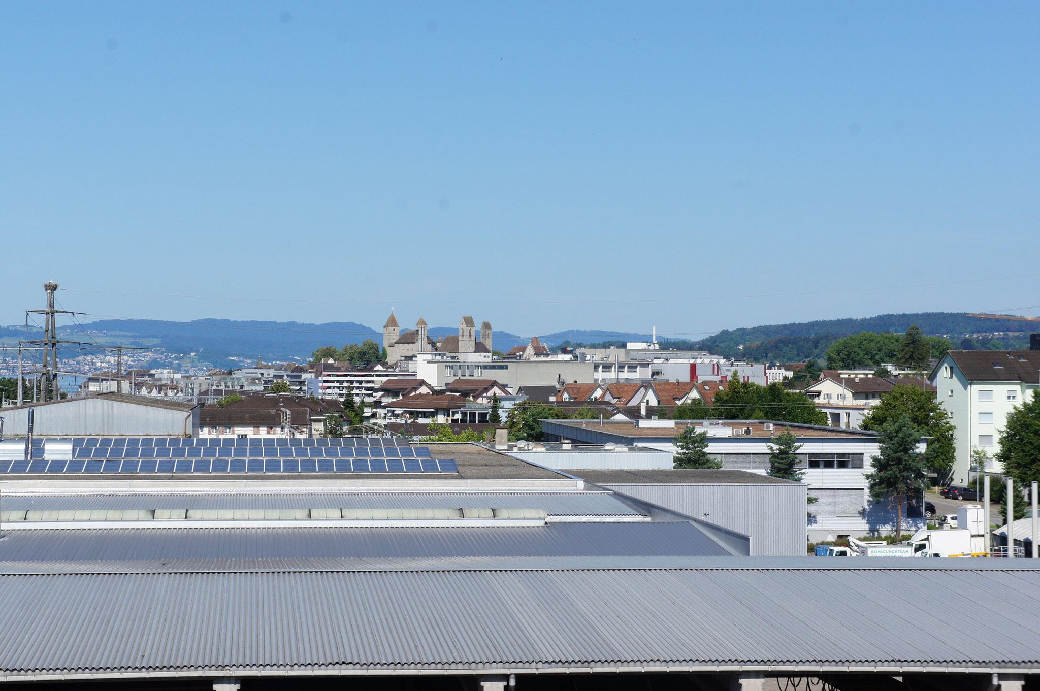 Aussicht auf Schloss Rapperswil