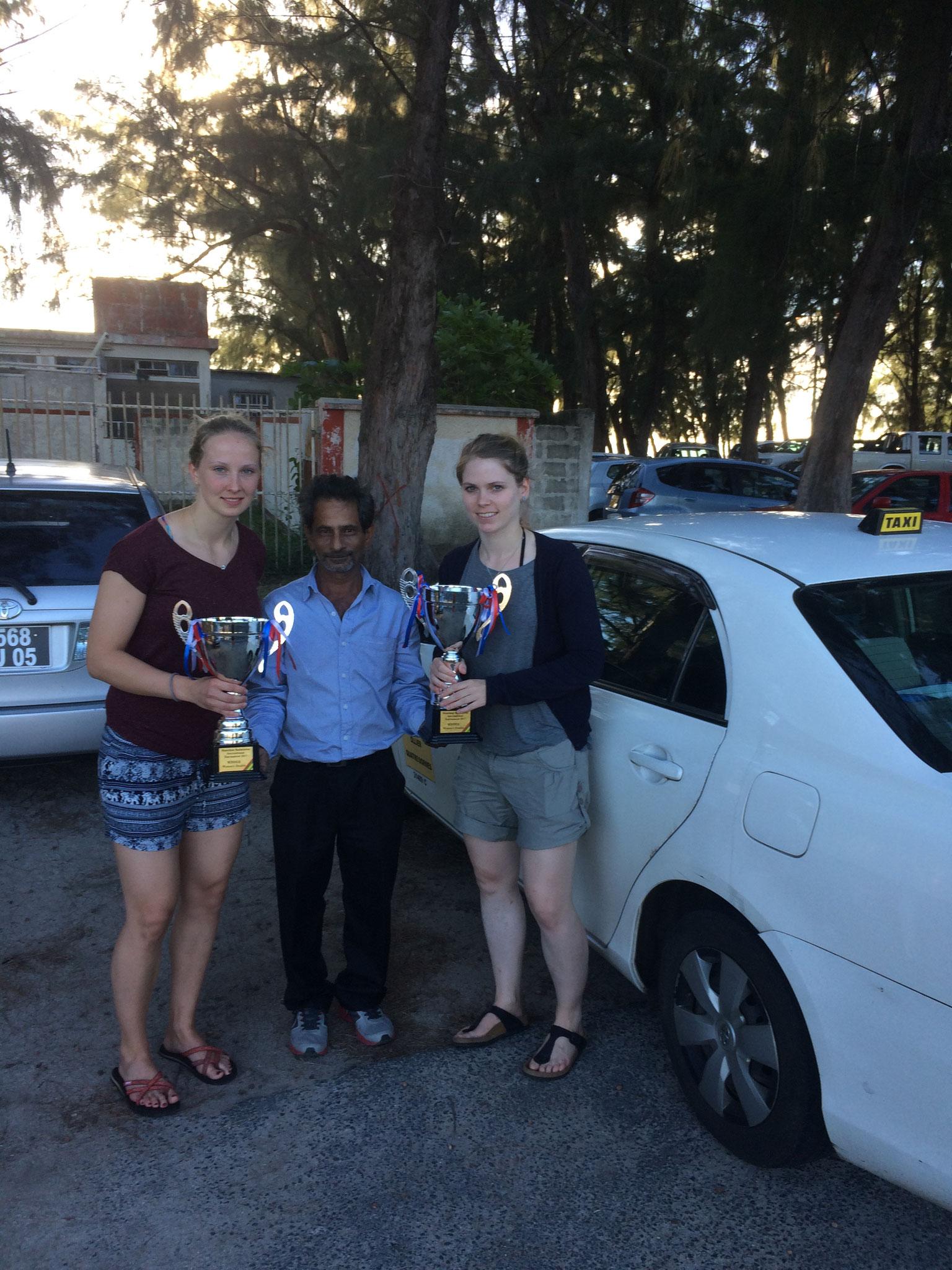 Mr. Soodhun! Bester Taxifahrer auf der Welt!