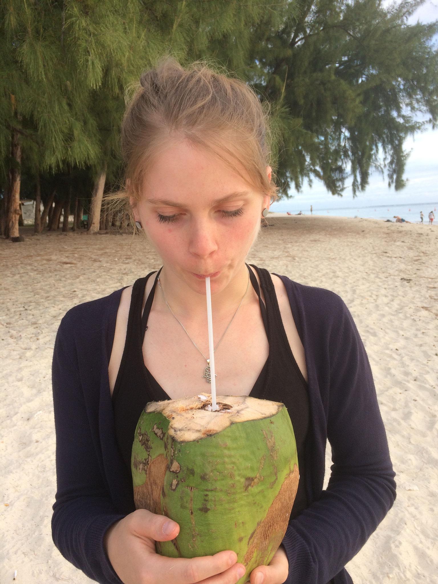 Kokosnussgenuss!