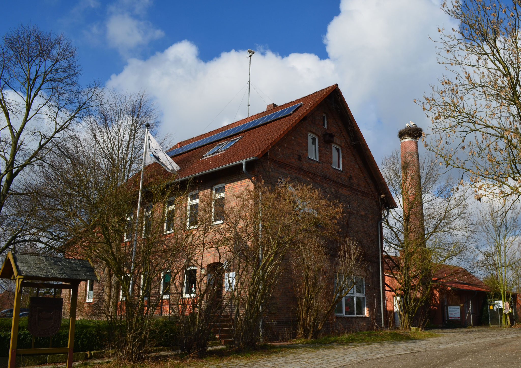 Das NABU-Artenschutzzentrum Leiferde.