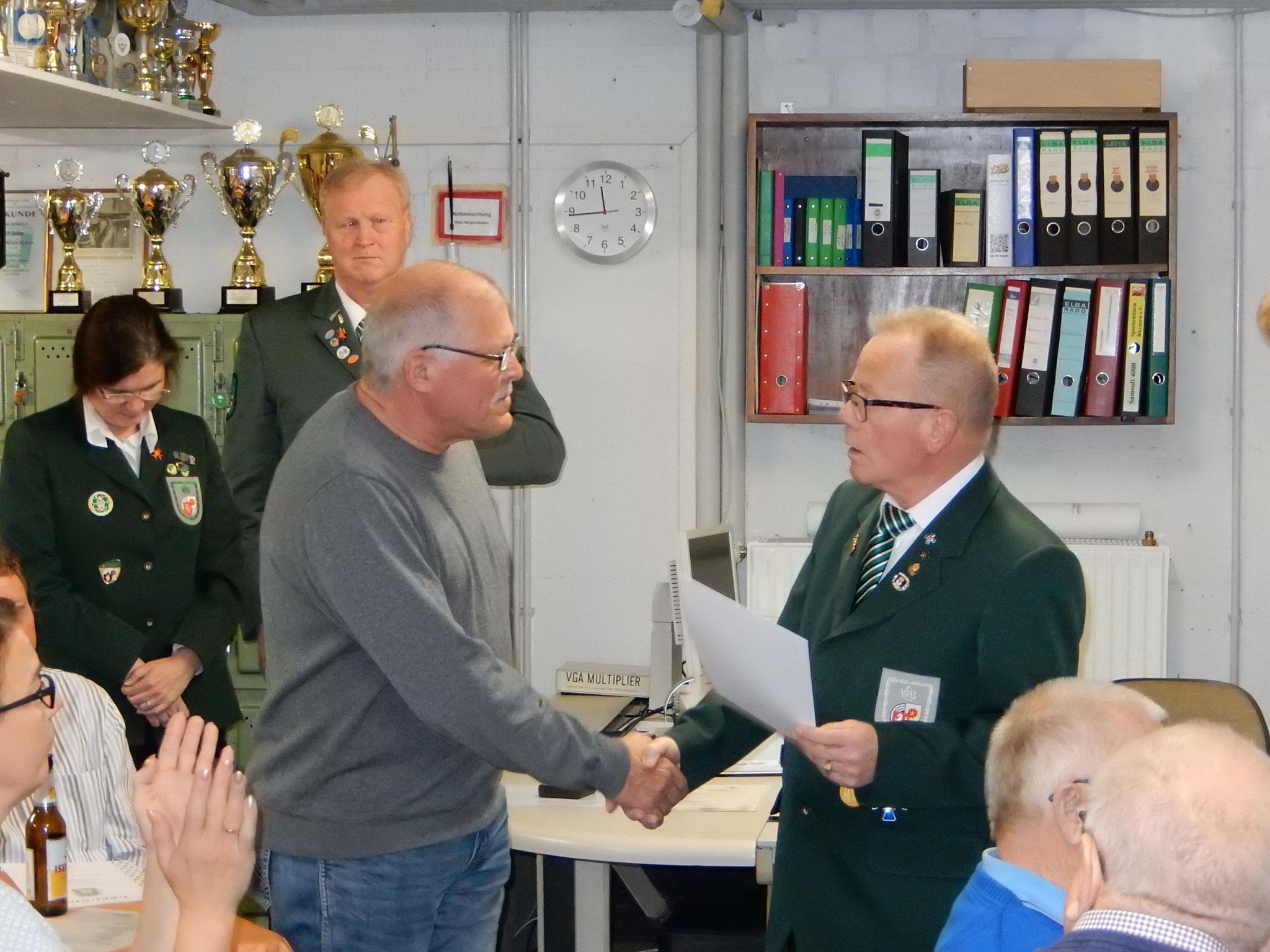 Auszeichnung Jürgen Lohest