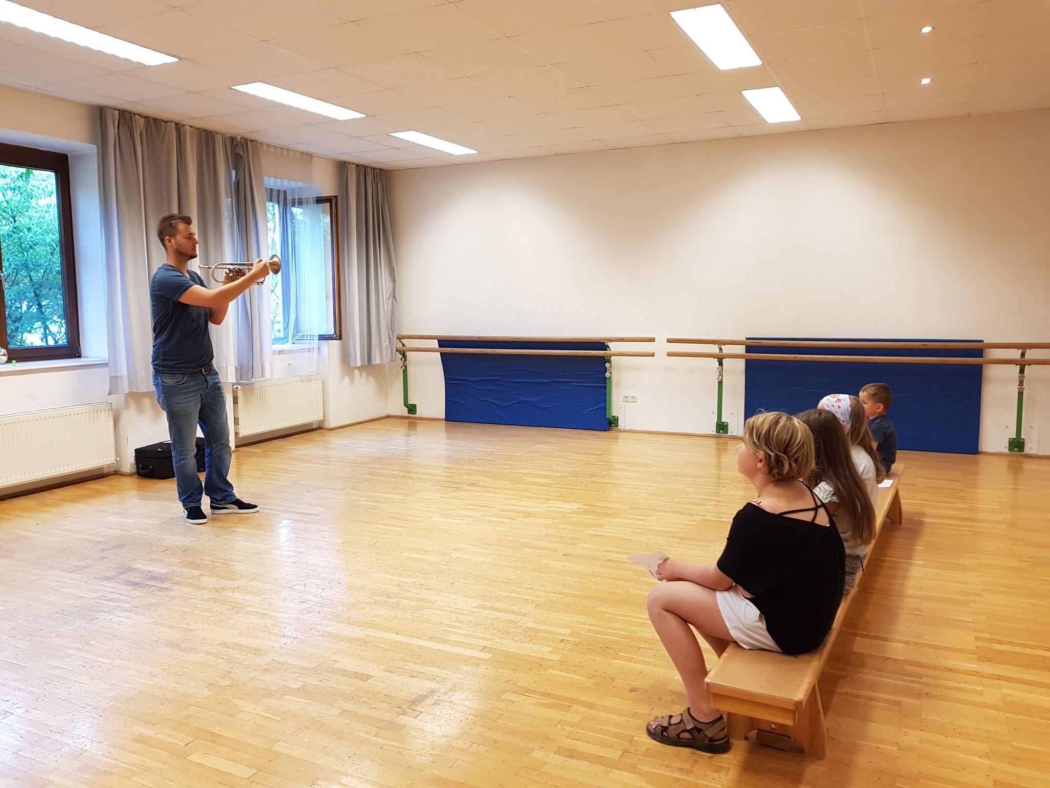 Michael Lettner präsentiert die Trompete!
