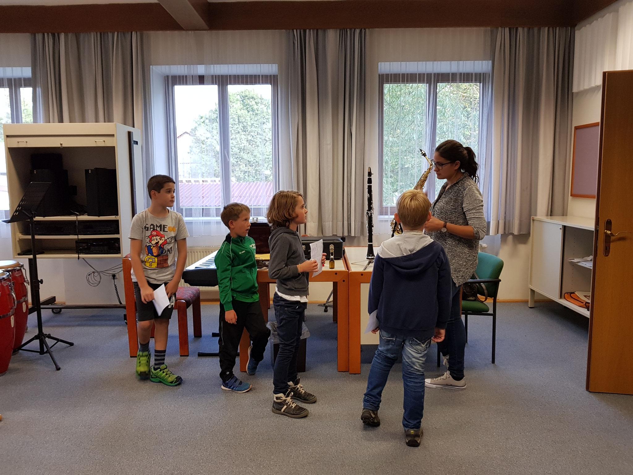 Kerstin Kiesenhofer stellt die Klarinette vor!