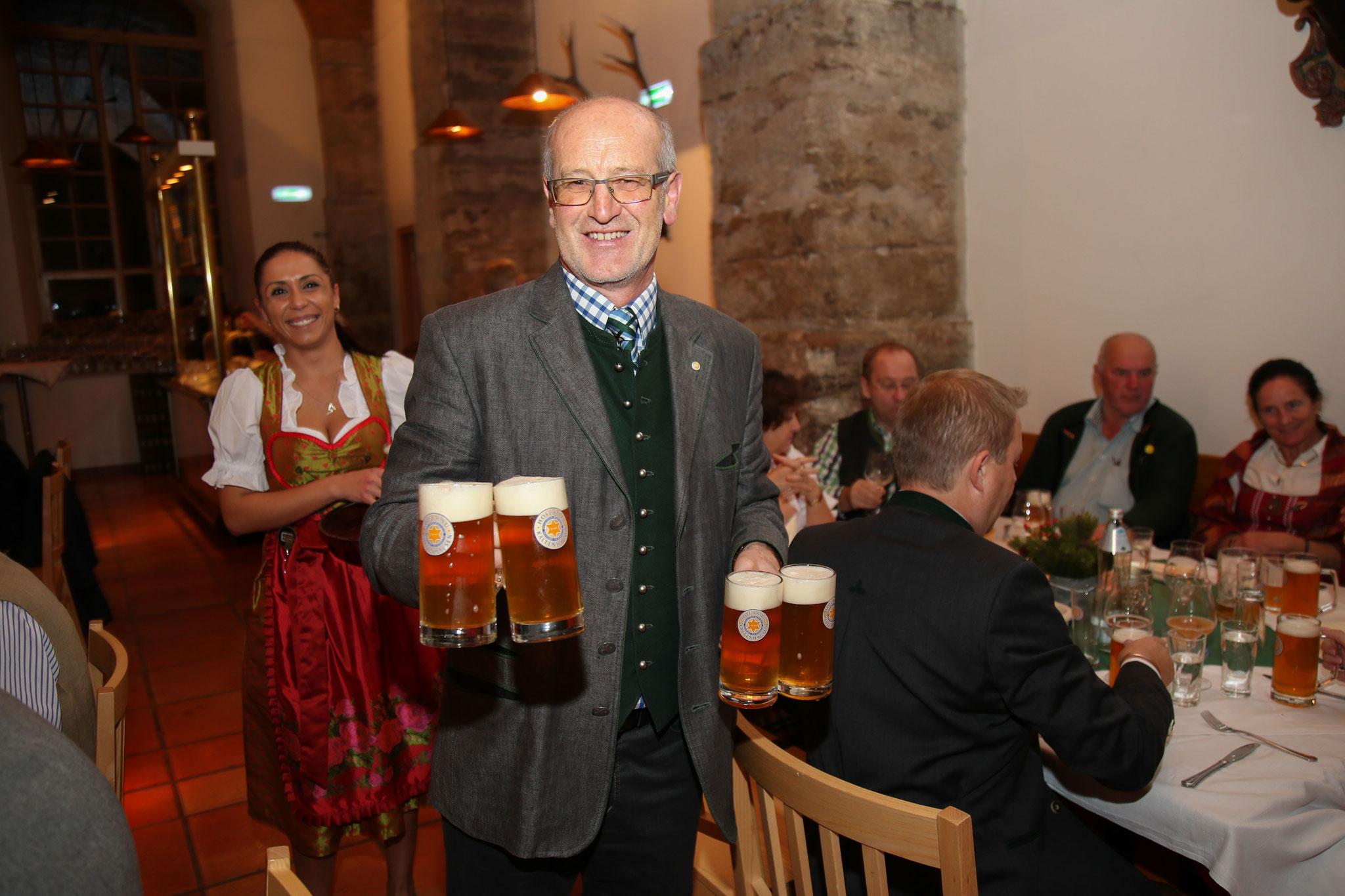 Marketing-Chef Karl Staudinger von der Brauerei Kaltenhausen.