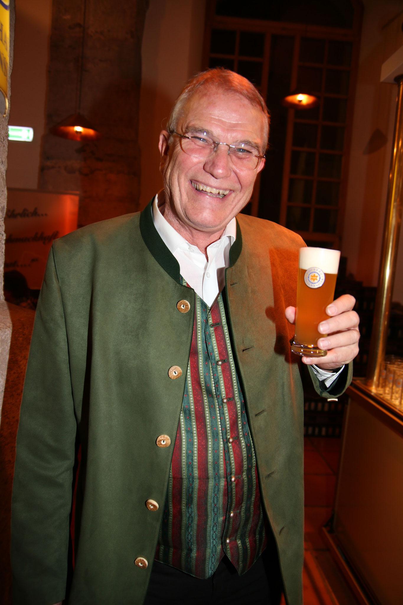 Unser hervorragender und legendärer Braumeister Dr. Günther Seeleitner.
