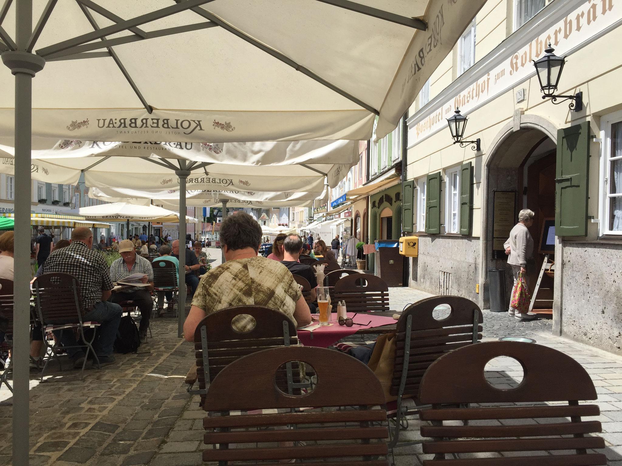 Bad Tölz, Mittagessen in der Altstadt