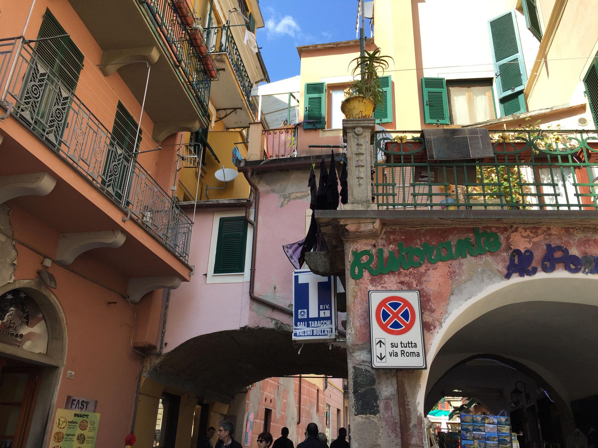 Cinqueterre (ich kann die Orte leider nicht mehr wirklich benennen)