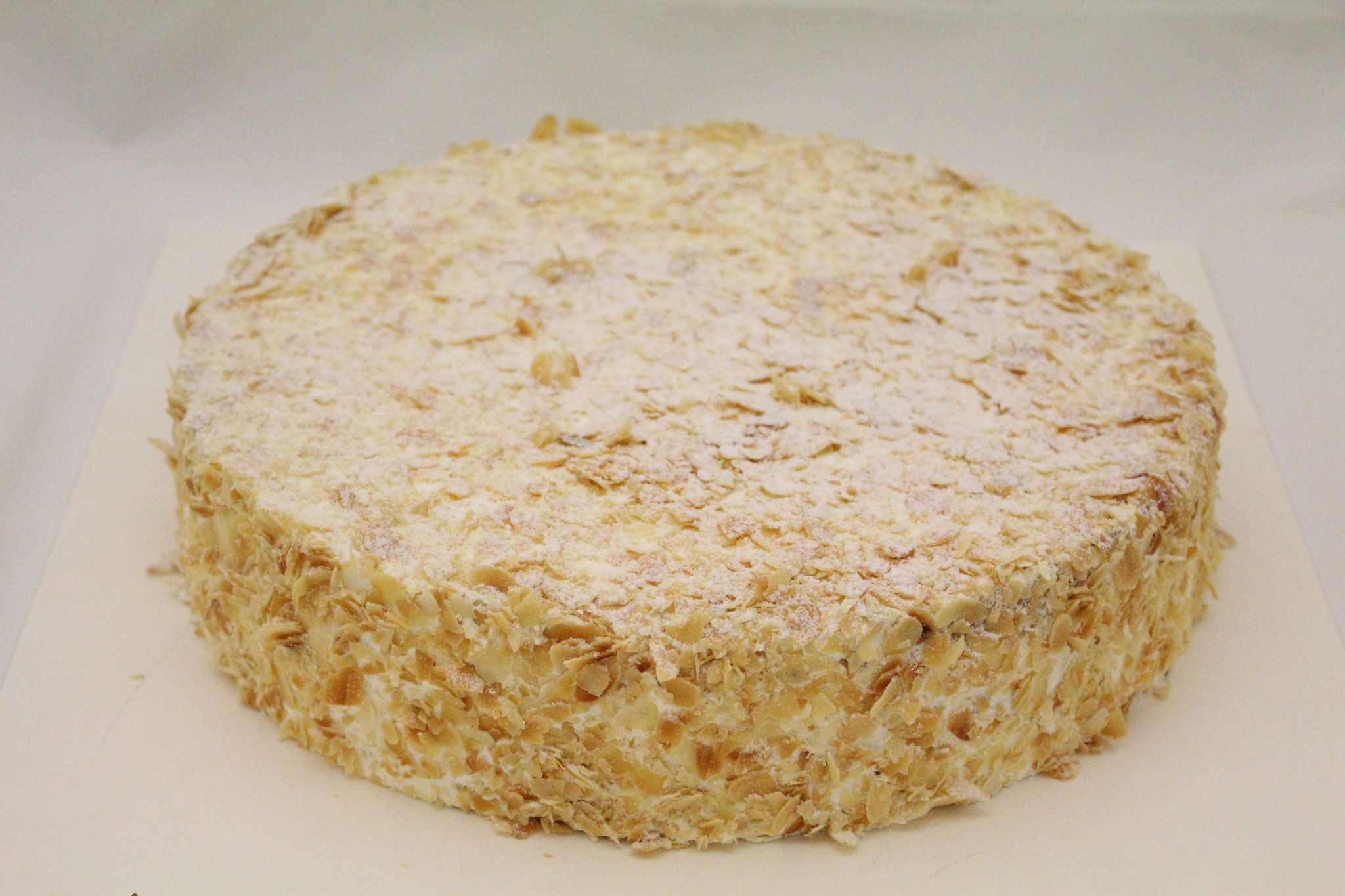 Spanisch Vanillecreme Torte