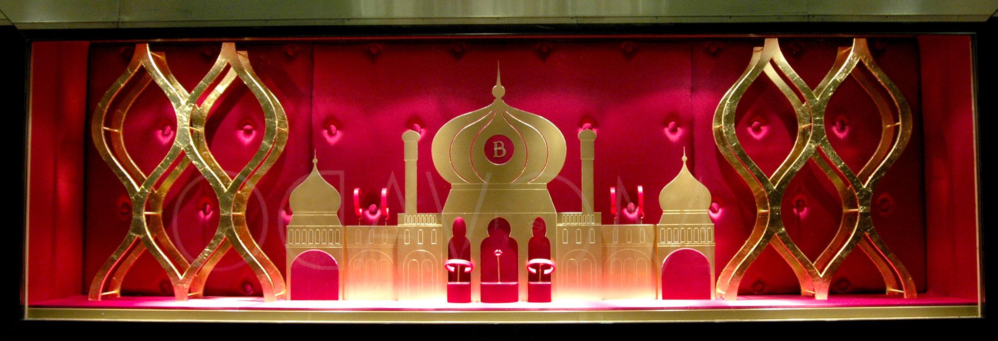 PLV BOUCHERON salon Bâle / exotisme