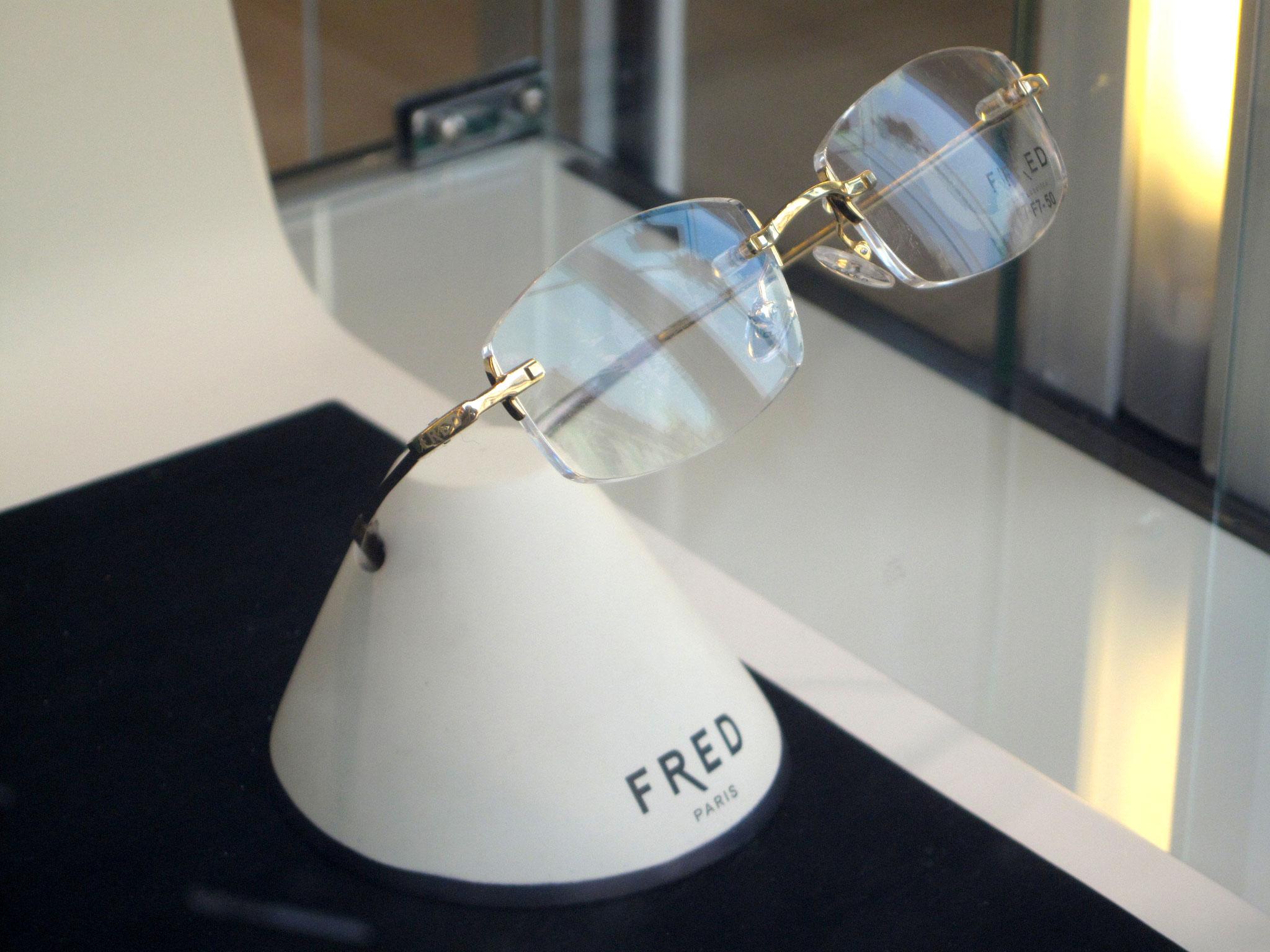 PLV FRED lunettes boutique