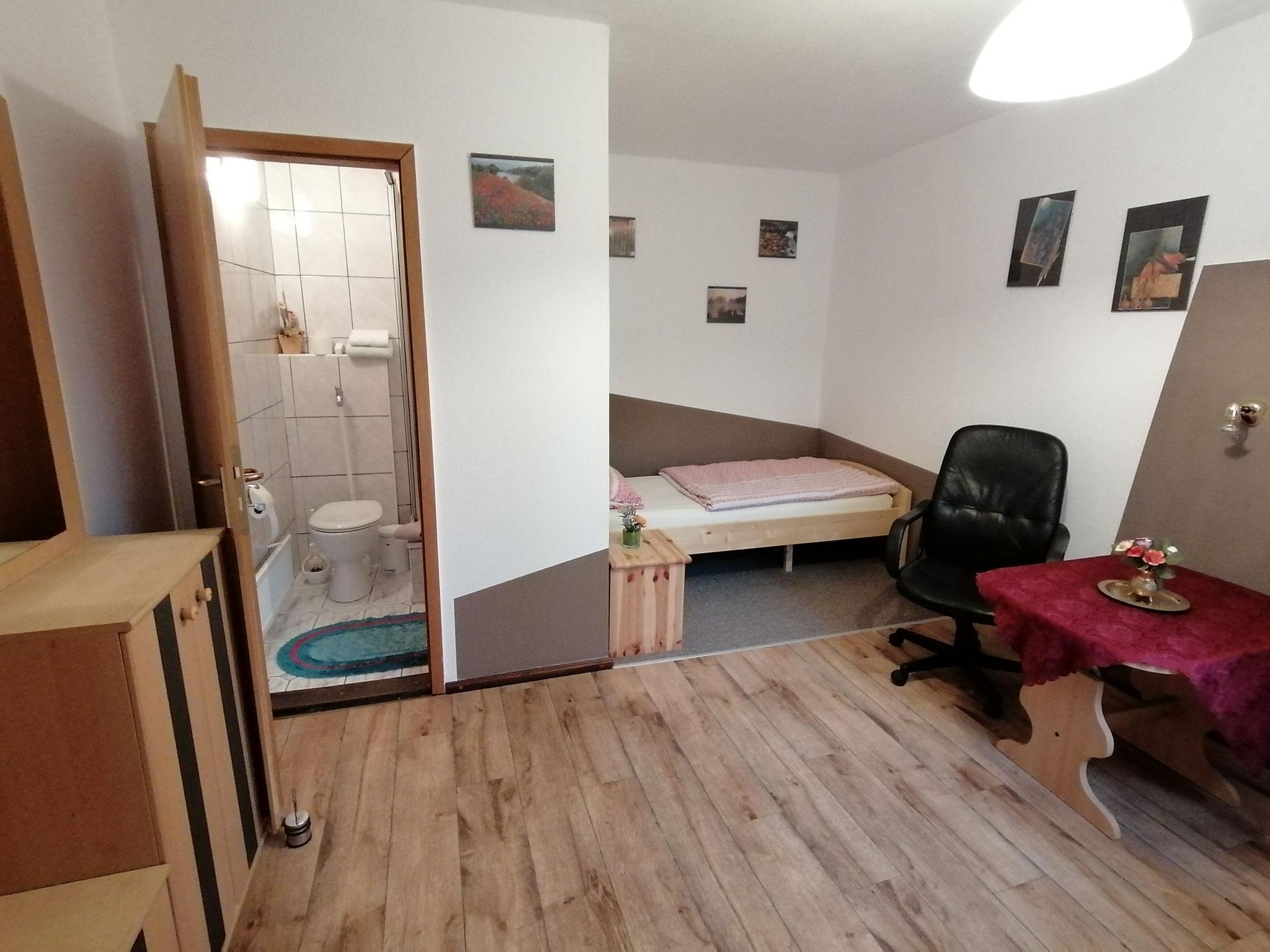 Einzelzimmer im Haupthaus