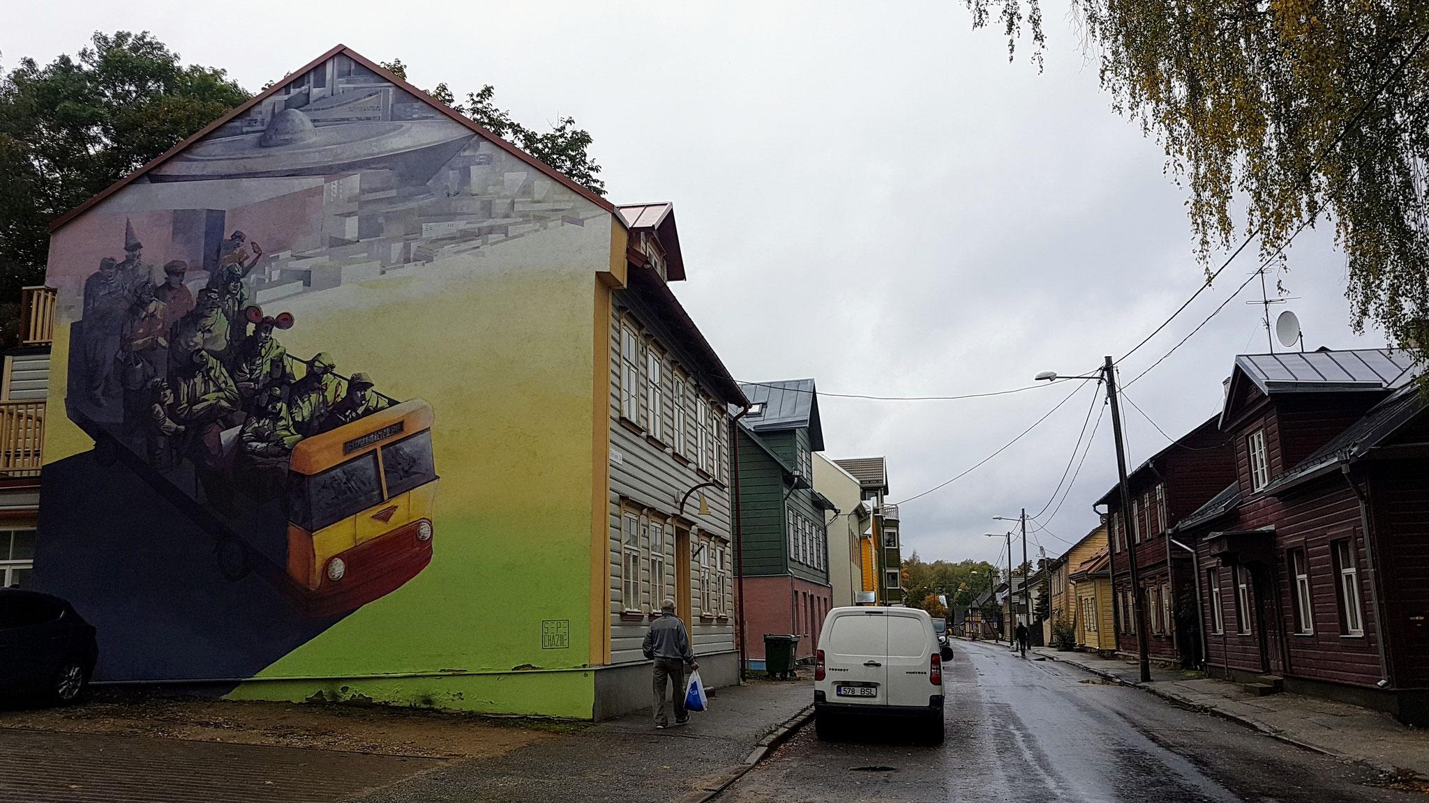 Tartu, die Studentenstadt in Estland...