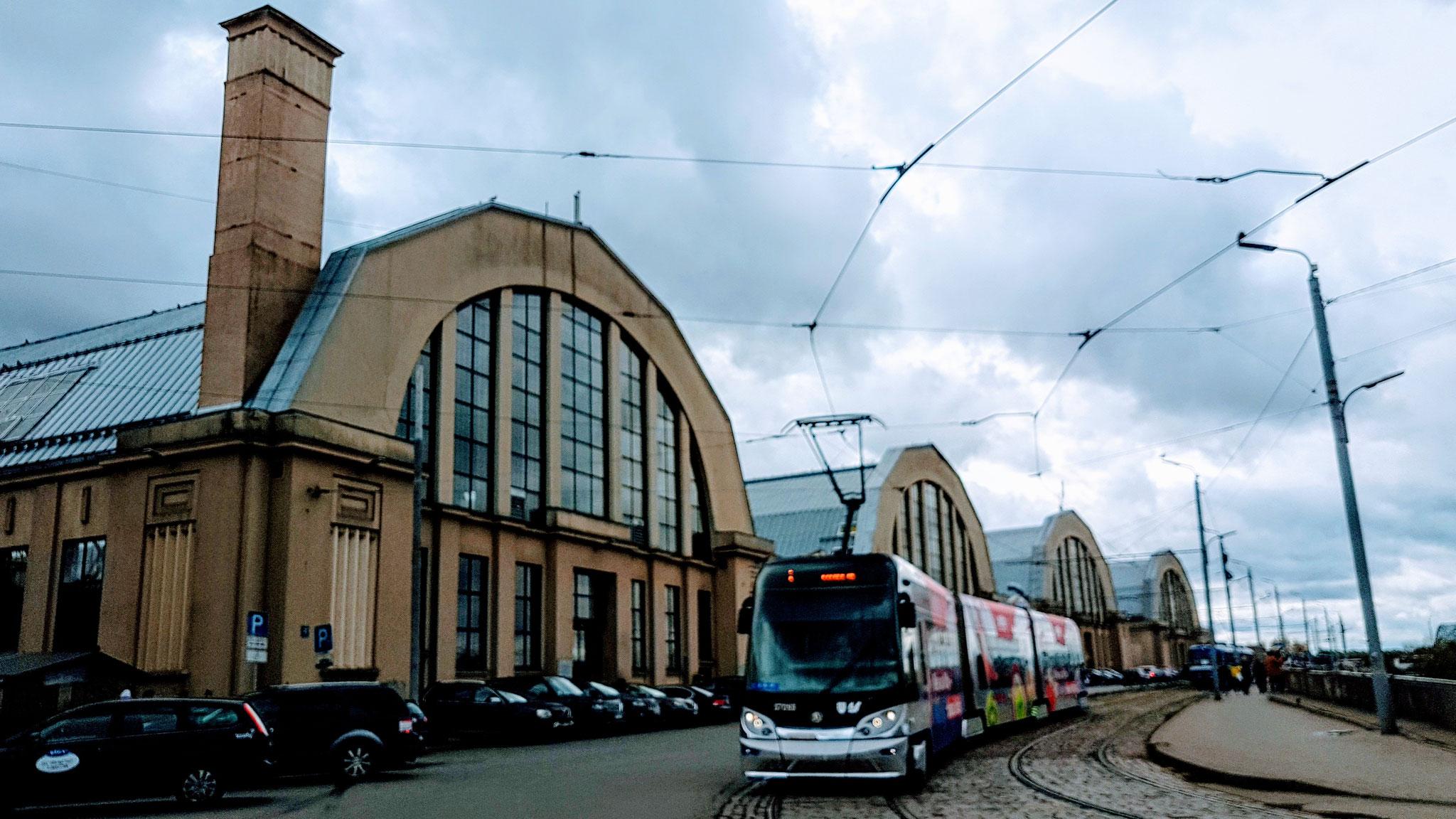Der Markt in Riga...