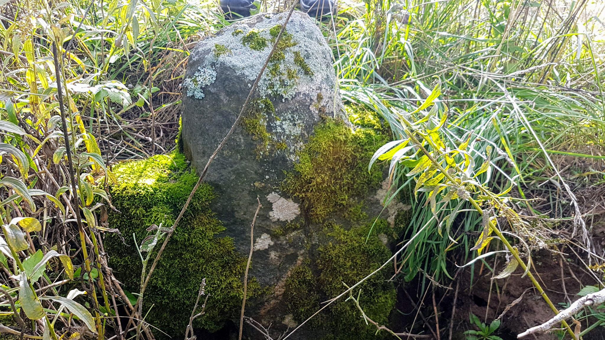 Grabstein aus der Zeit von Peter dem Grossen