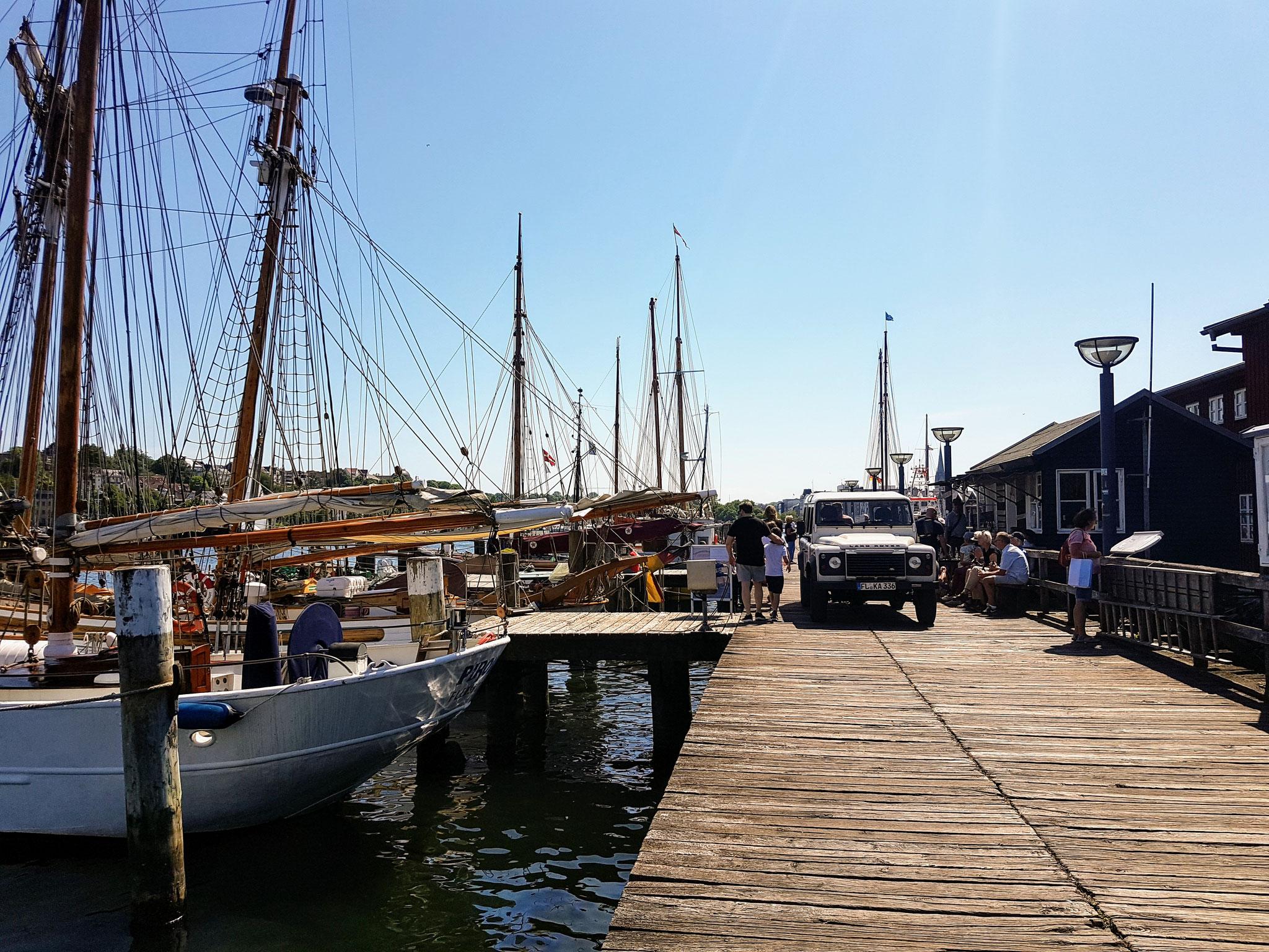 alter Hafen in Flensburg