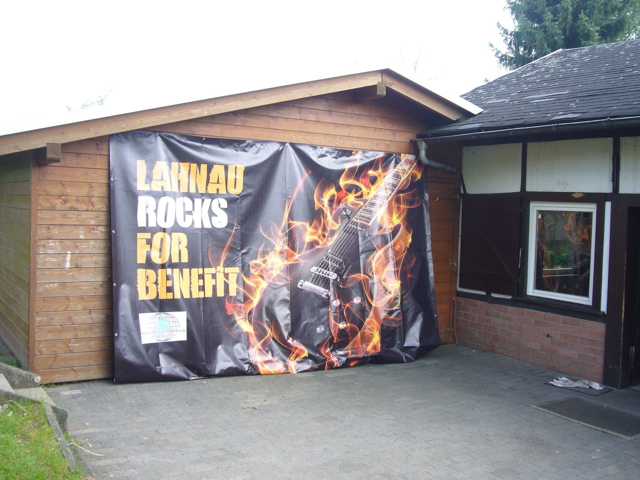 Lahnau rocks for Benefit