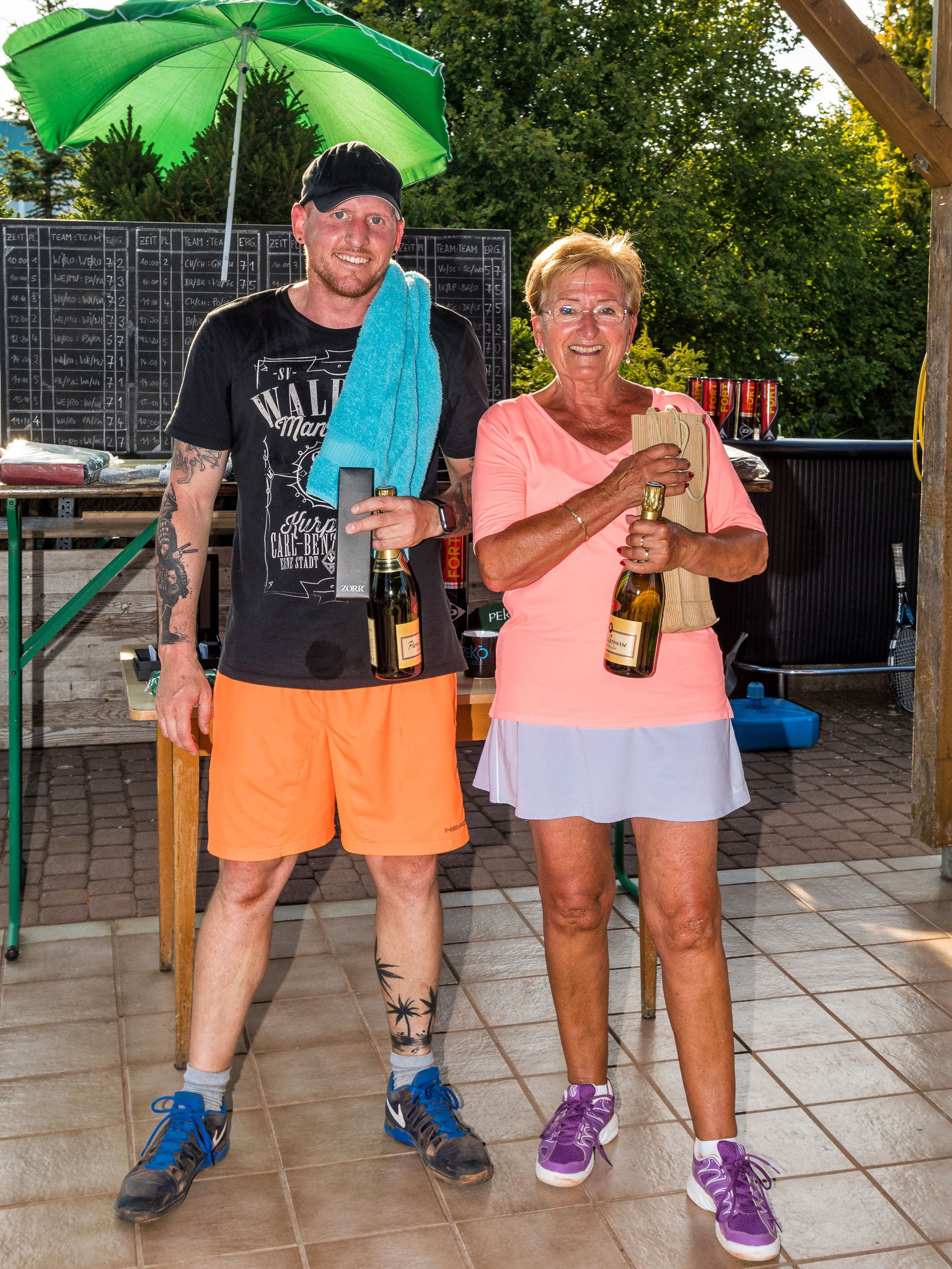 2. Sieger Agnes und Markus Christen