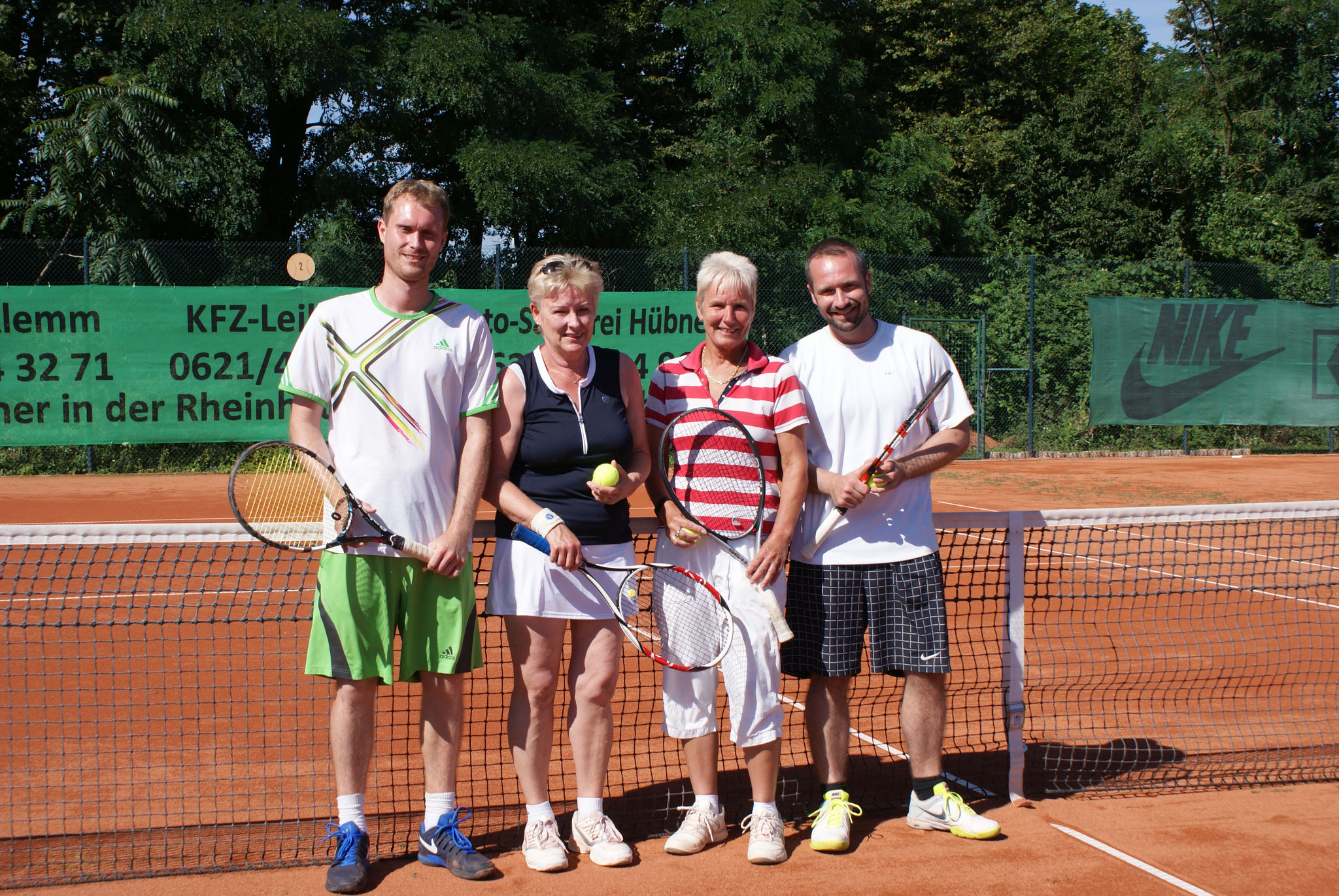 v.l.n.r. André und Monika Weinsheimer, Brigitte und Daniel Roos
