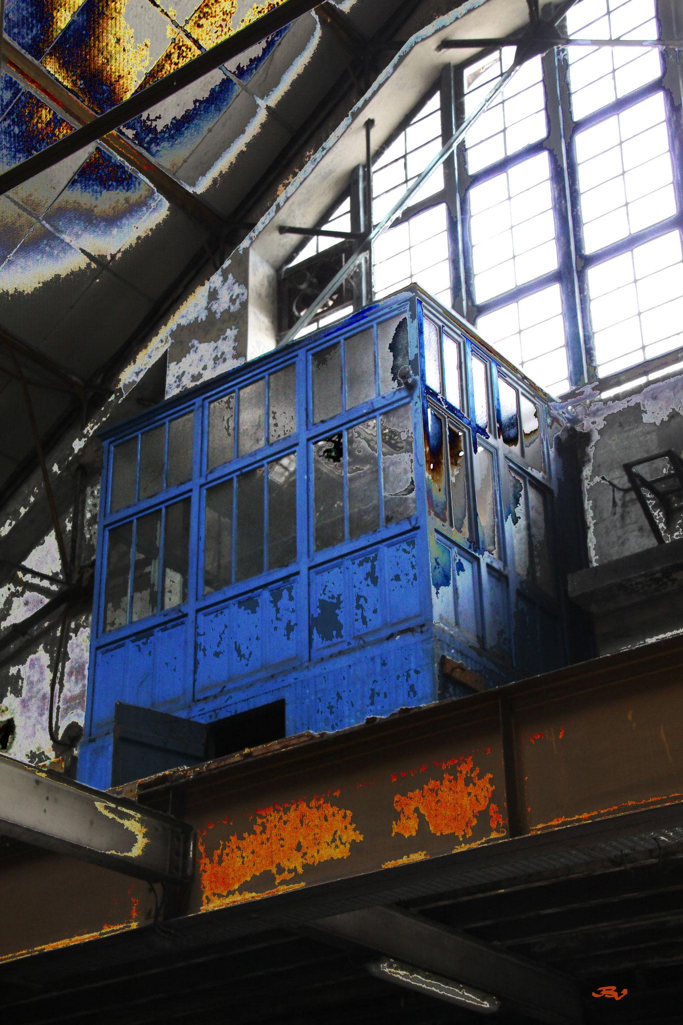 bureau bleu 1