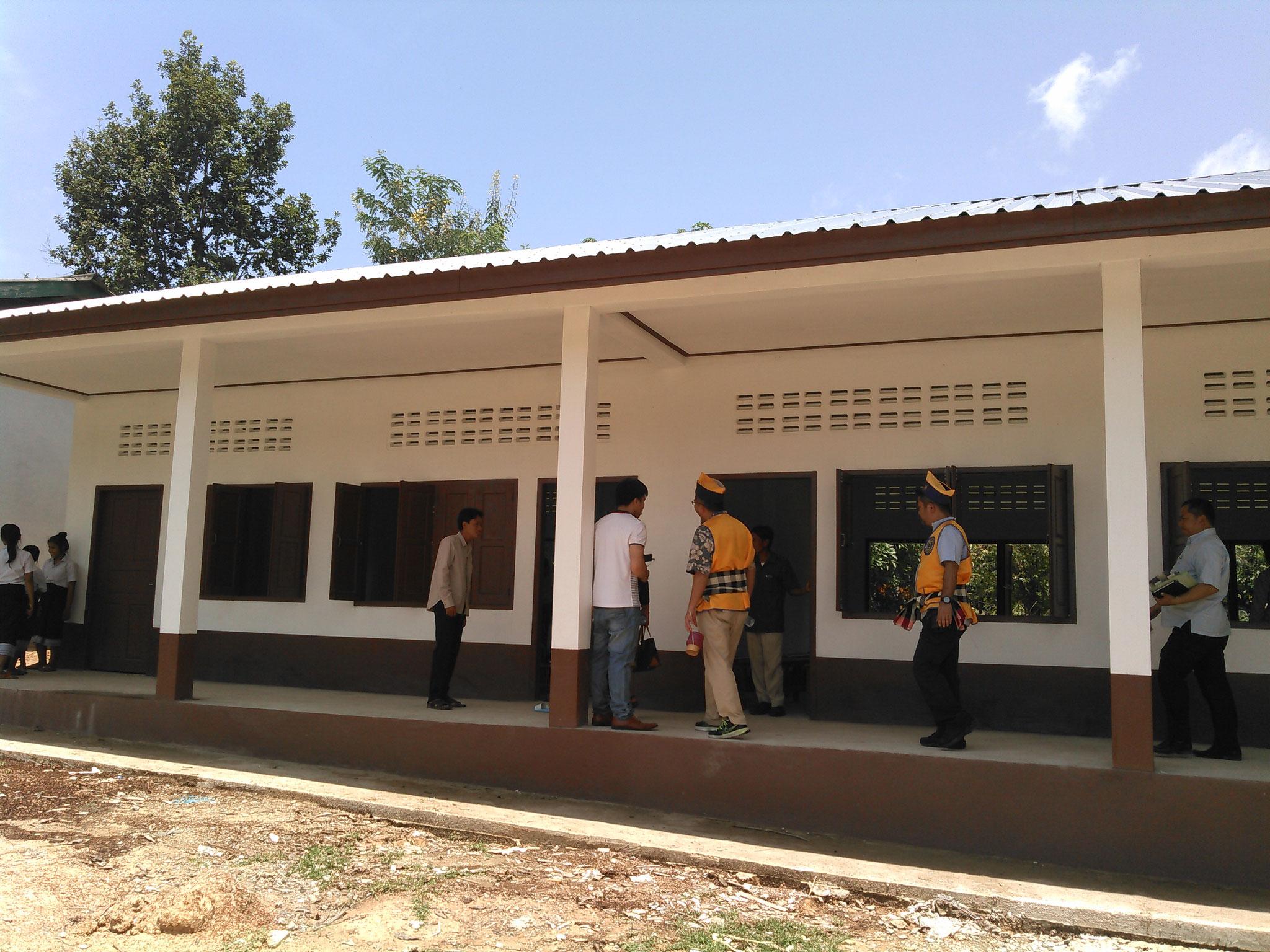 ラオス小学校建設
