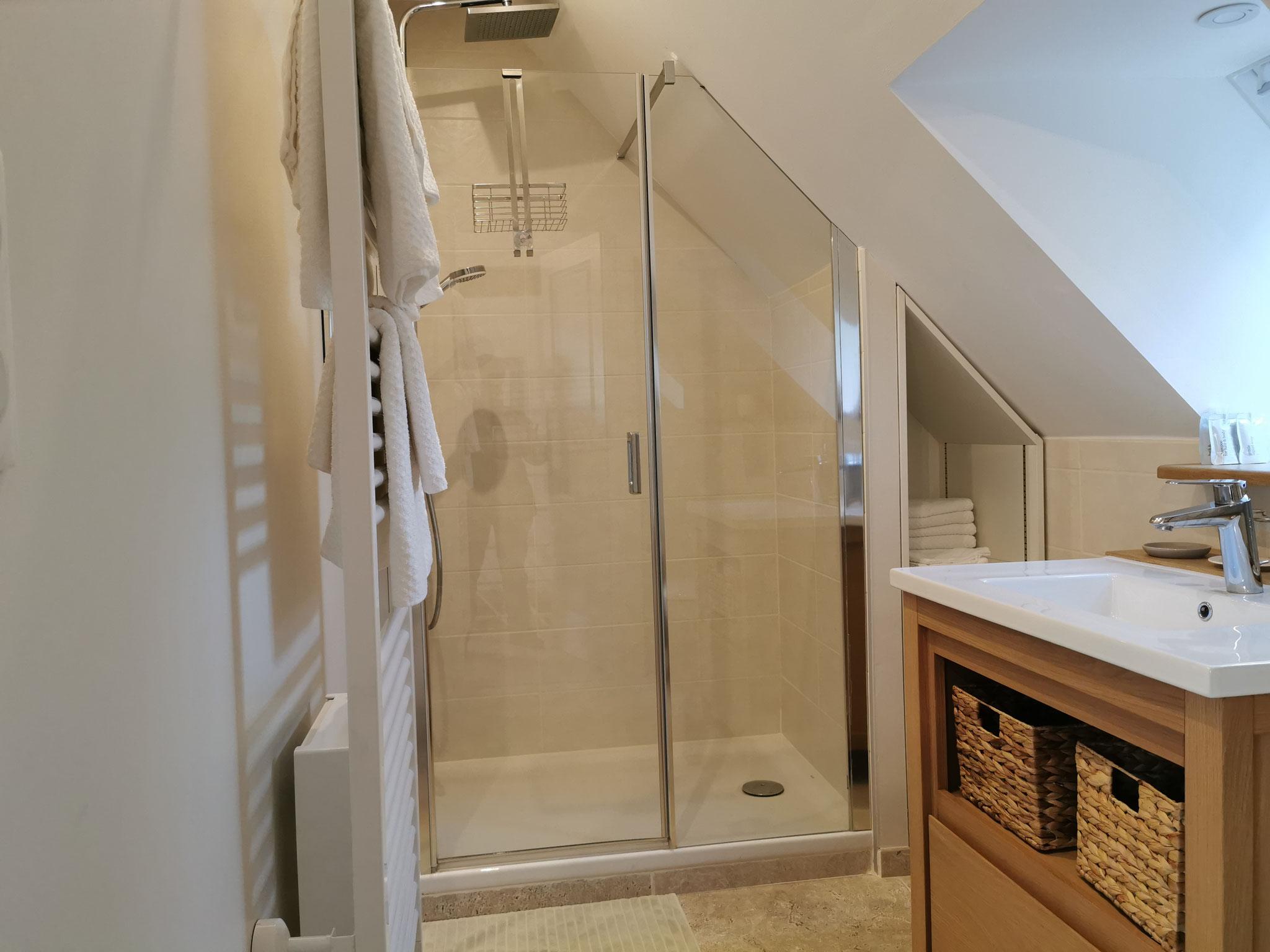 La Suite de l'Atelier: salle d'eau/douche/WC