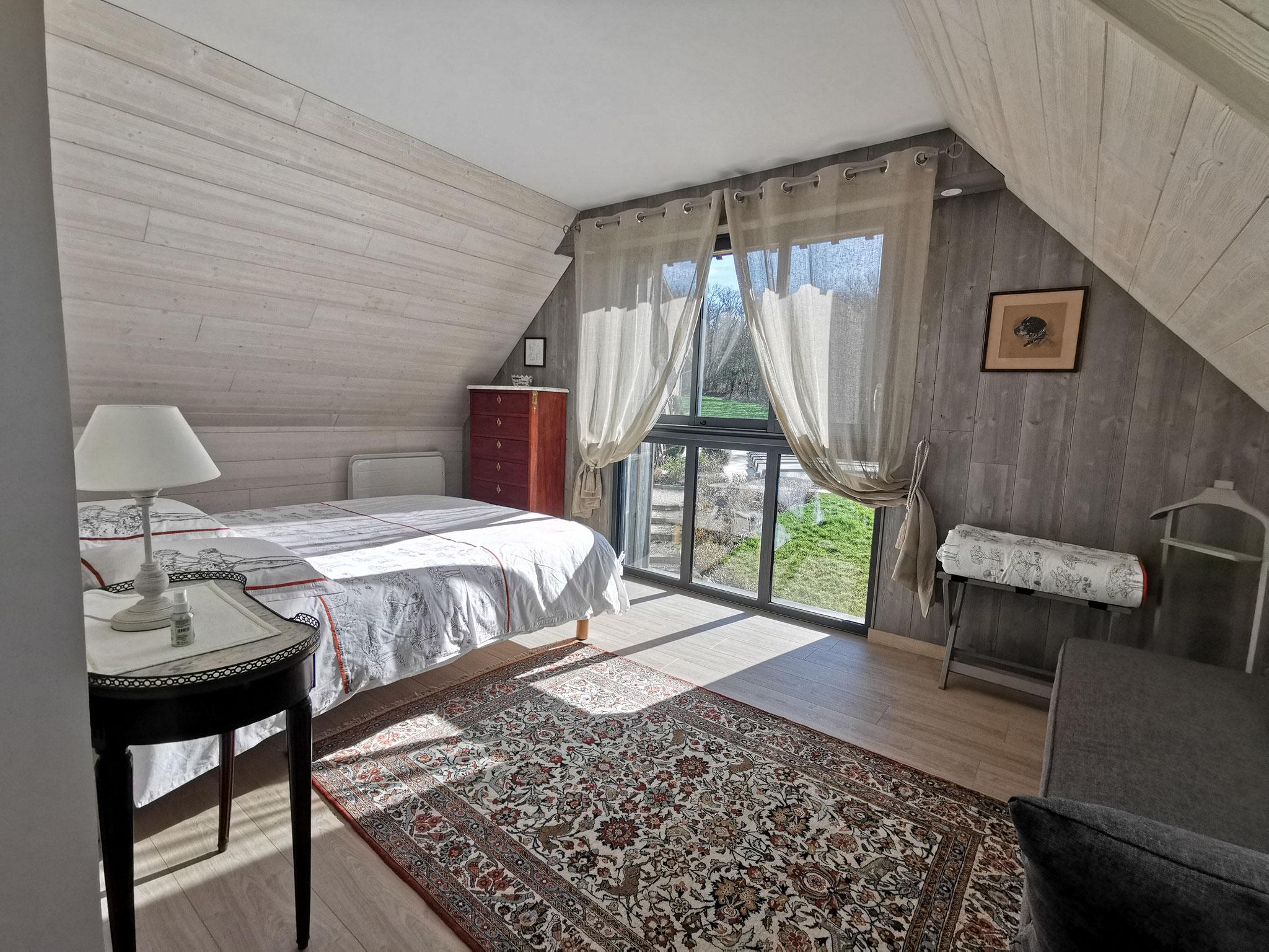 La suite de l'Atelier: chambre avec lit de 160/200