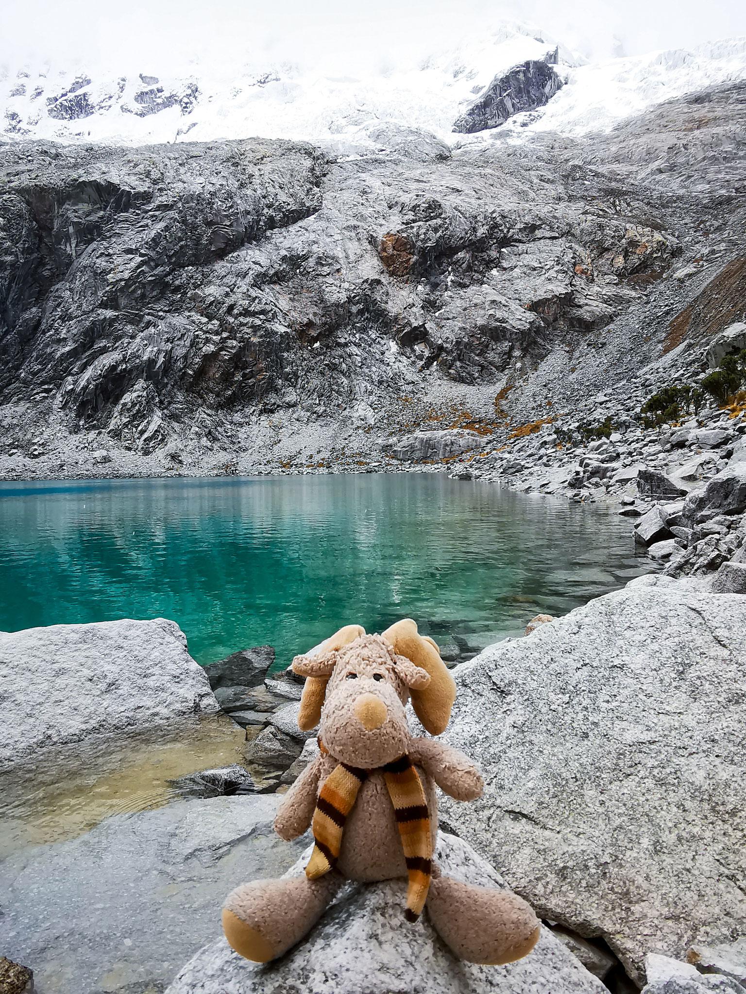 Elli in Huaraz bei der Lagune 69 (Peru)