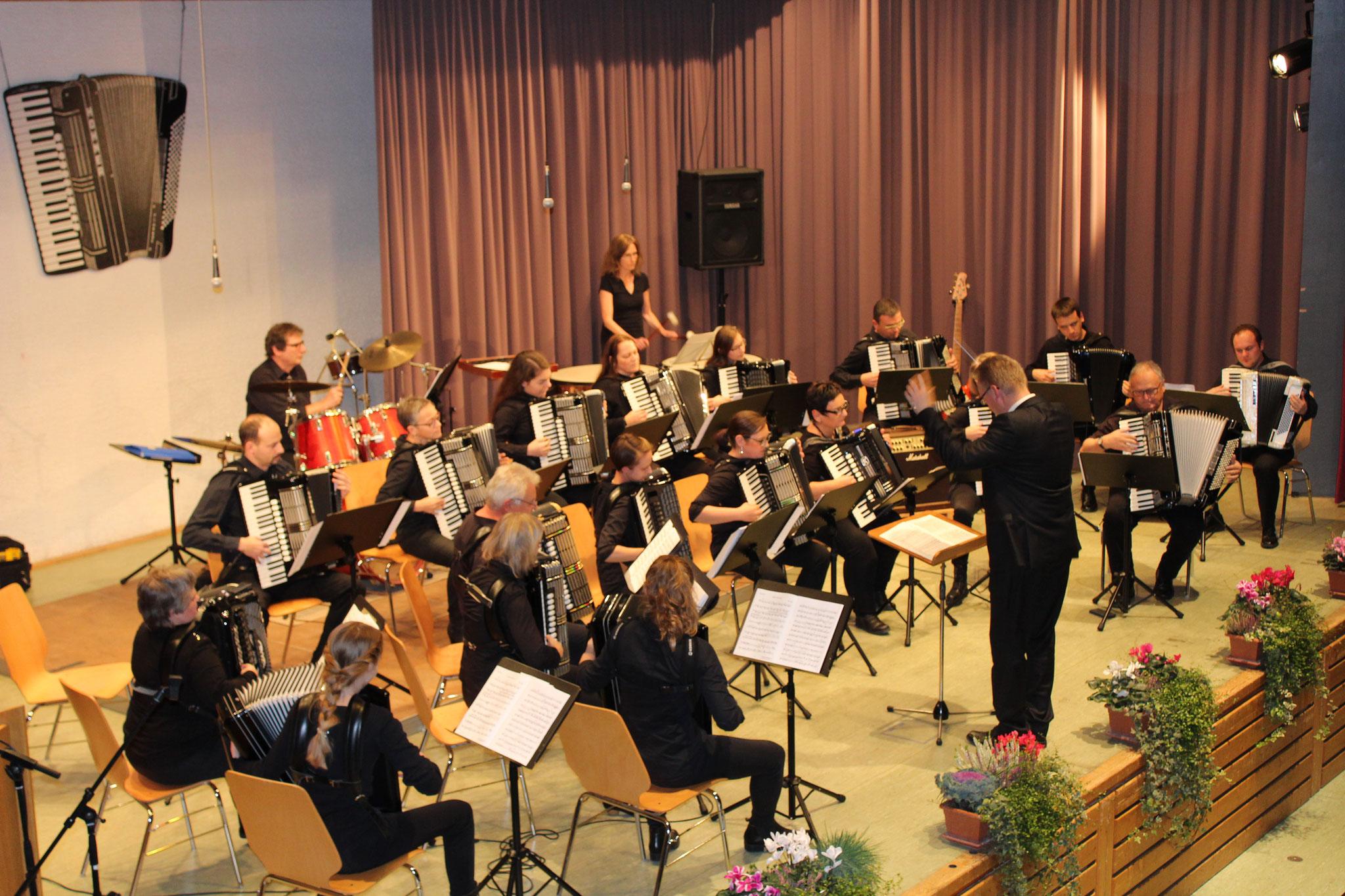 unsere Gäste: 1. Orchester des Harmonikaring Berghausen - wir bedanken uns herzlich für die tolle Konzertmitgestaltung!