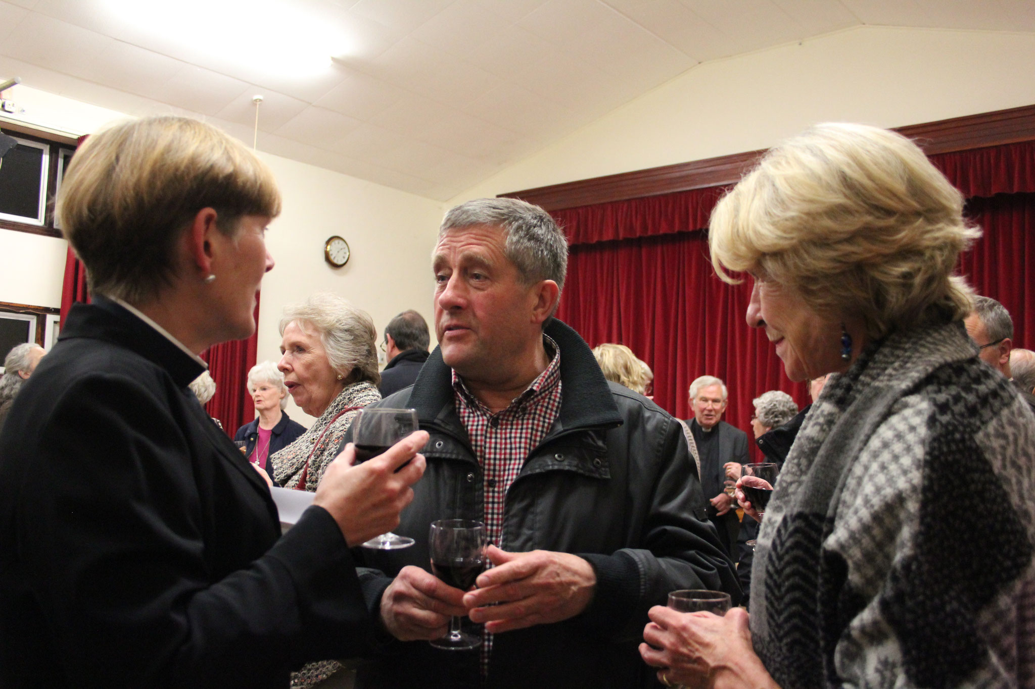 Jules and guests