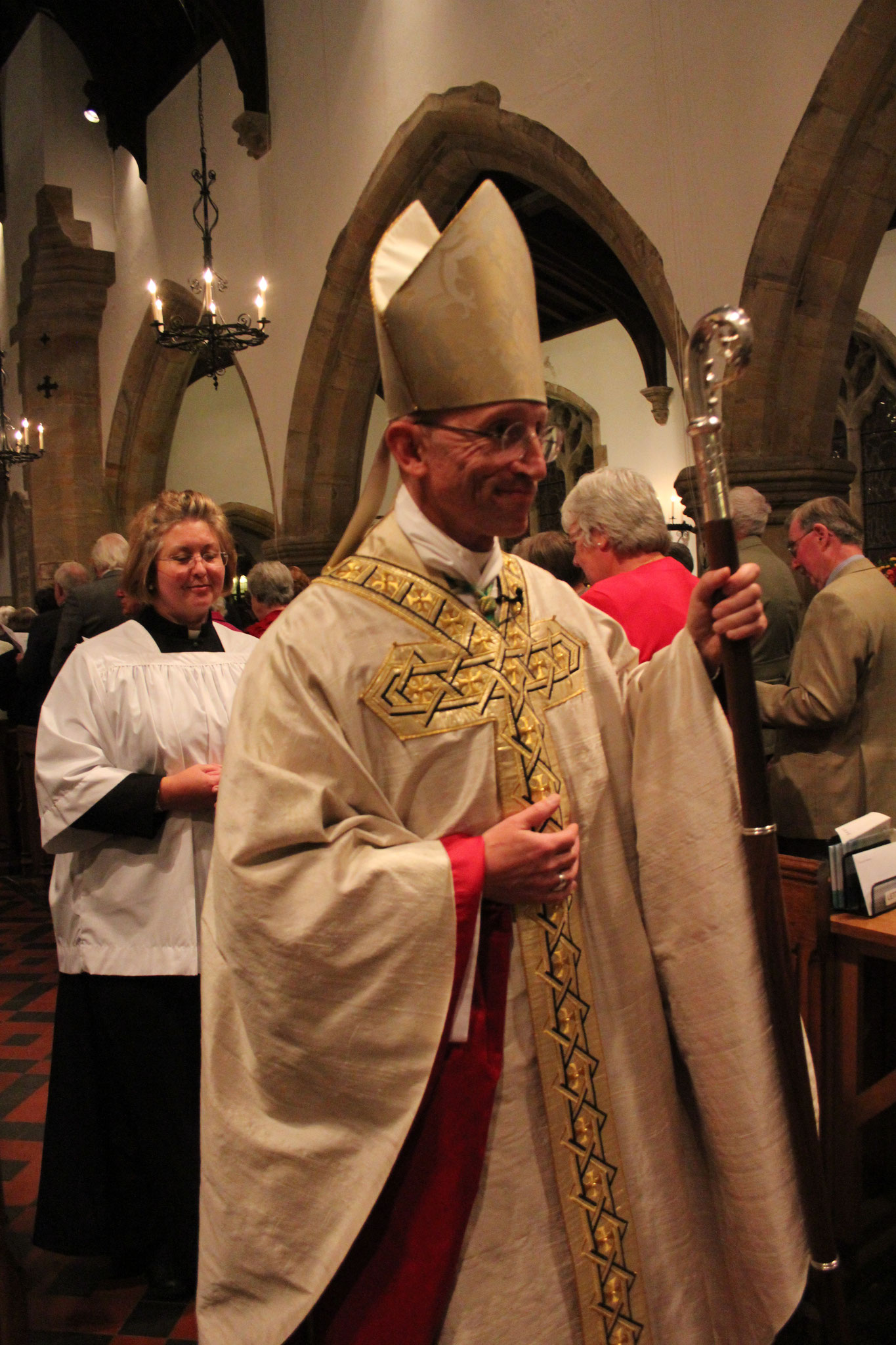 Rt Revd Dr Martin Warner, Bishop of Chichester