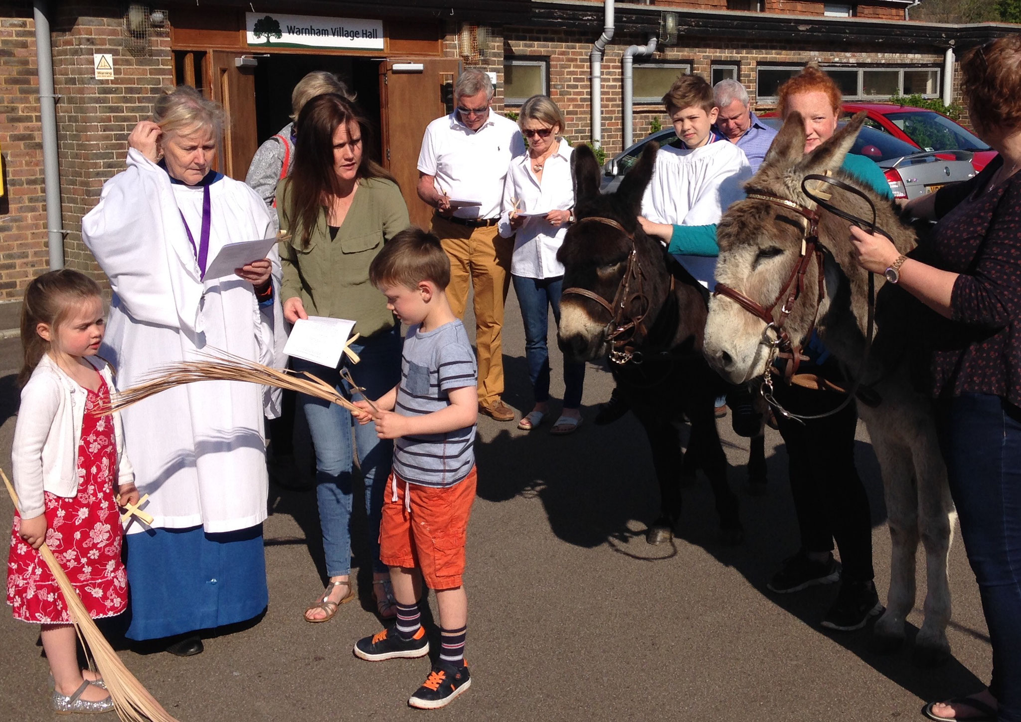 Getting ready to go